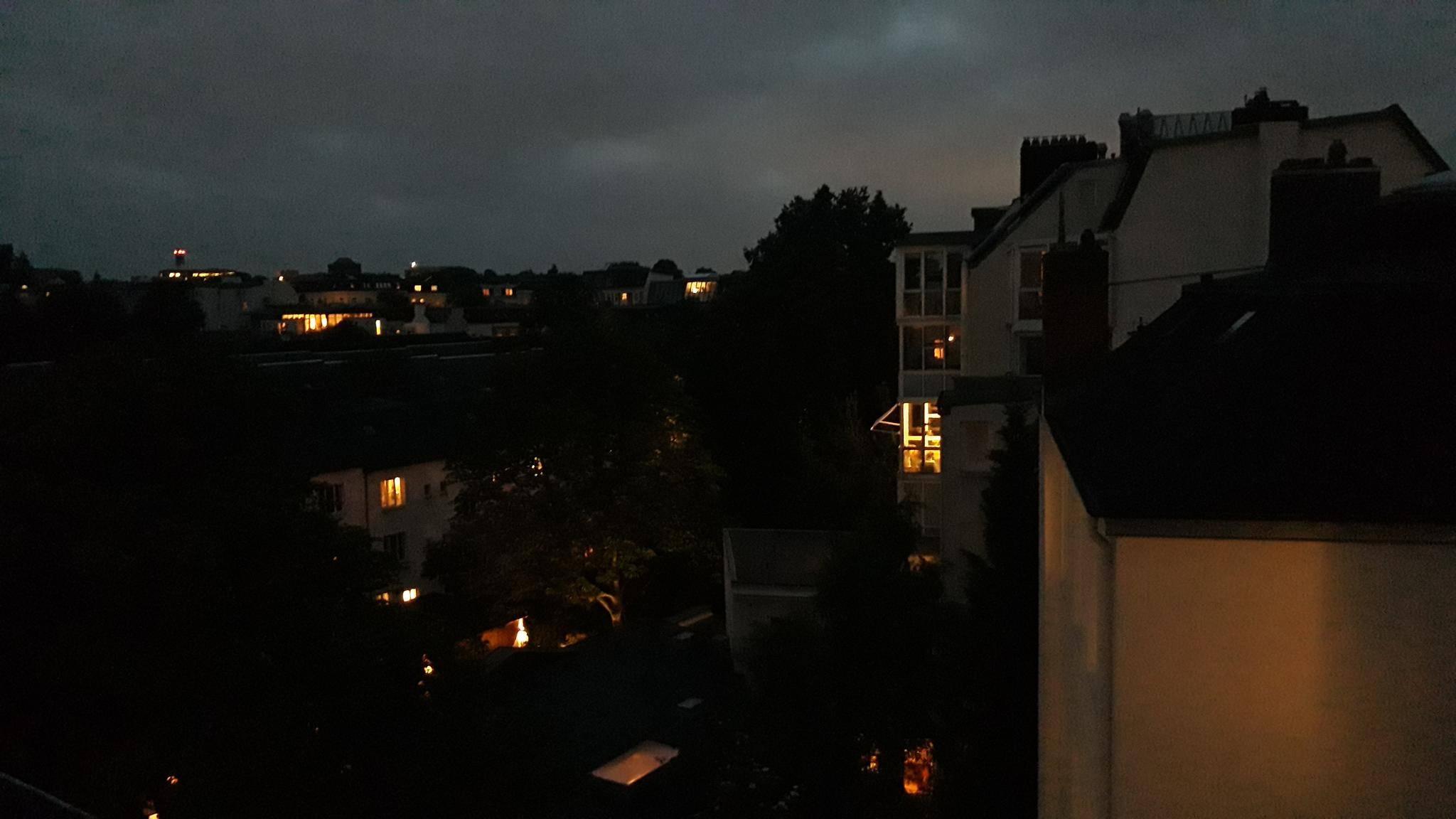 Die Motive sind bei Nachtaufnahmen noch gut zu erkennen.