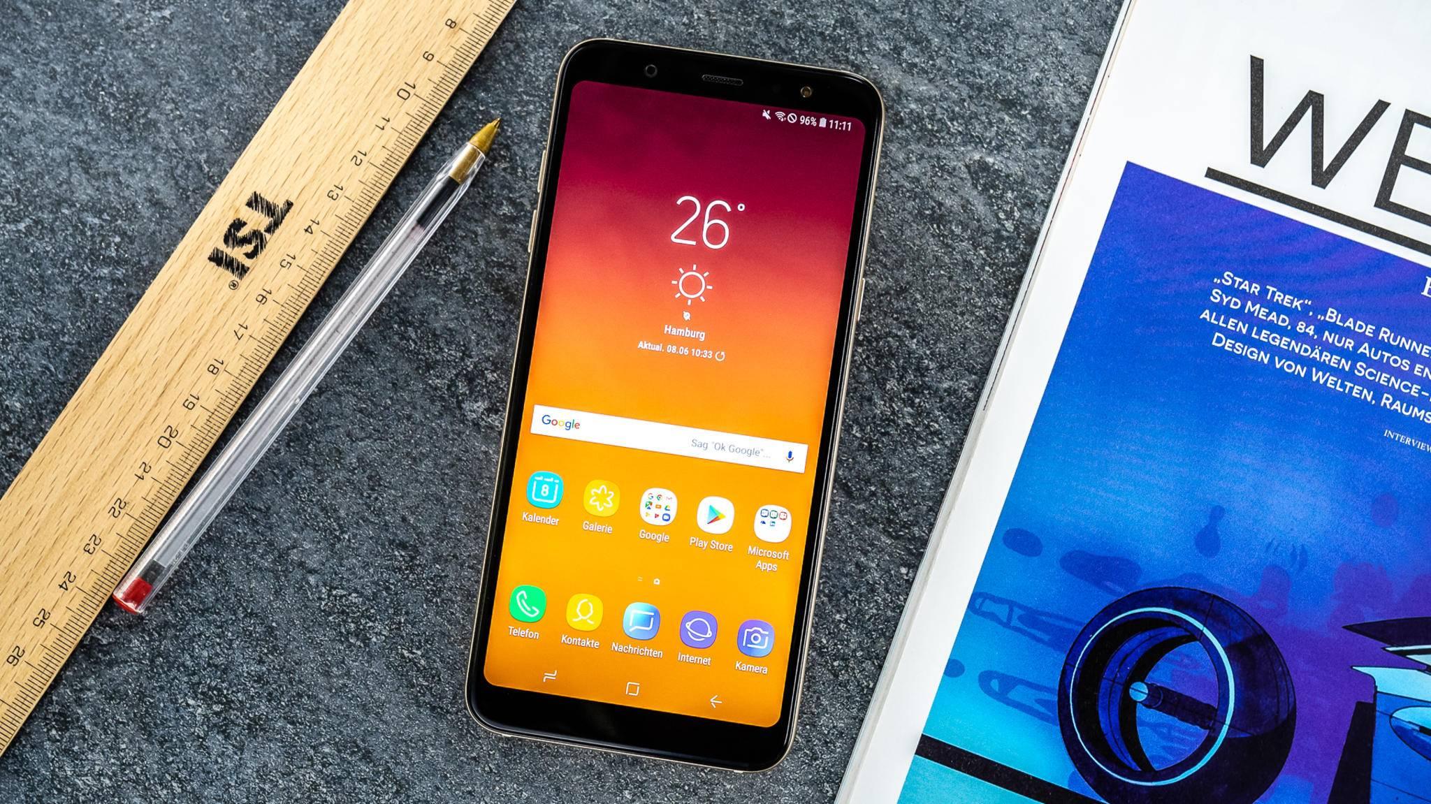 Das Galaxy A6 Plus (2018) hat einige Vorzüge gegenüber dem Galaxy A6 (2018).