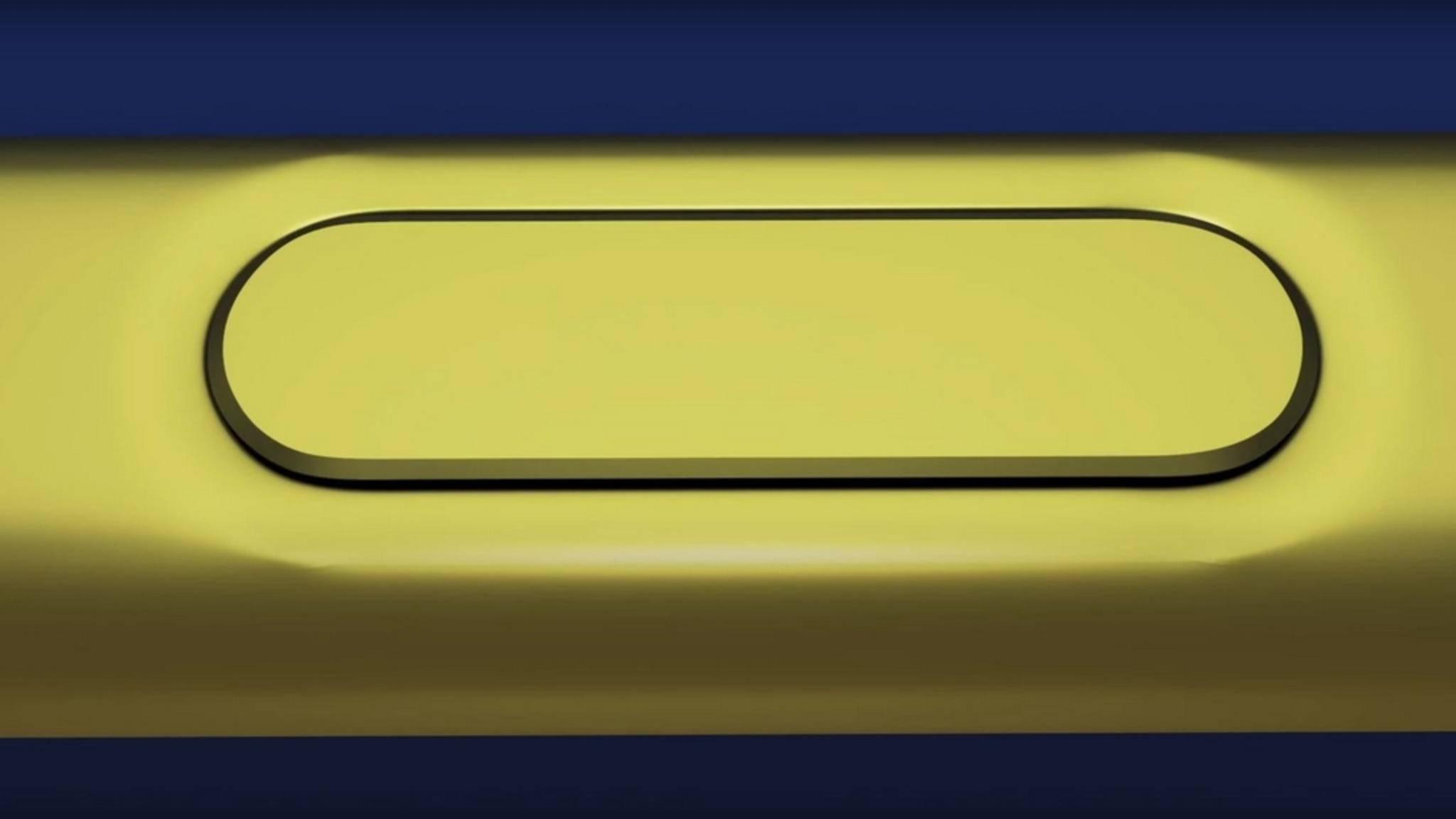 Der S-Pen des Samsung Galaxy Note 9 soll über Bluetooth verfügen.