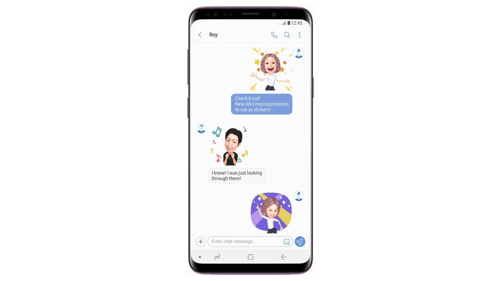 Samsung hat neue AR-Emojis veröffentlicht.