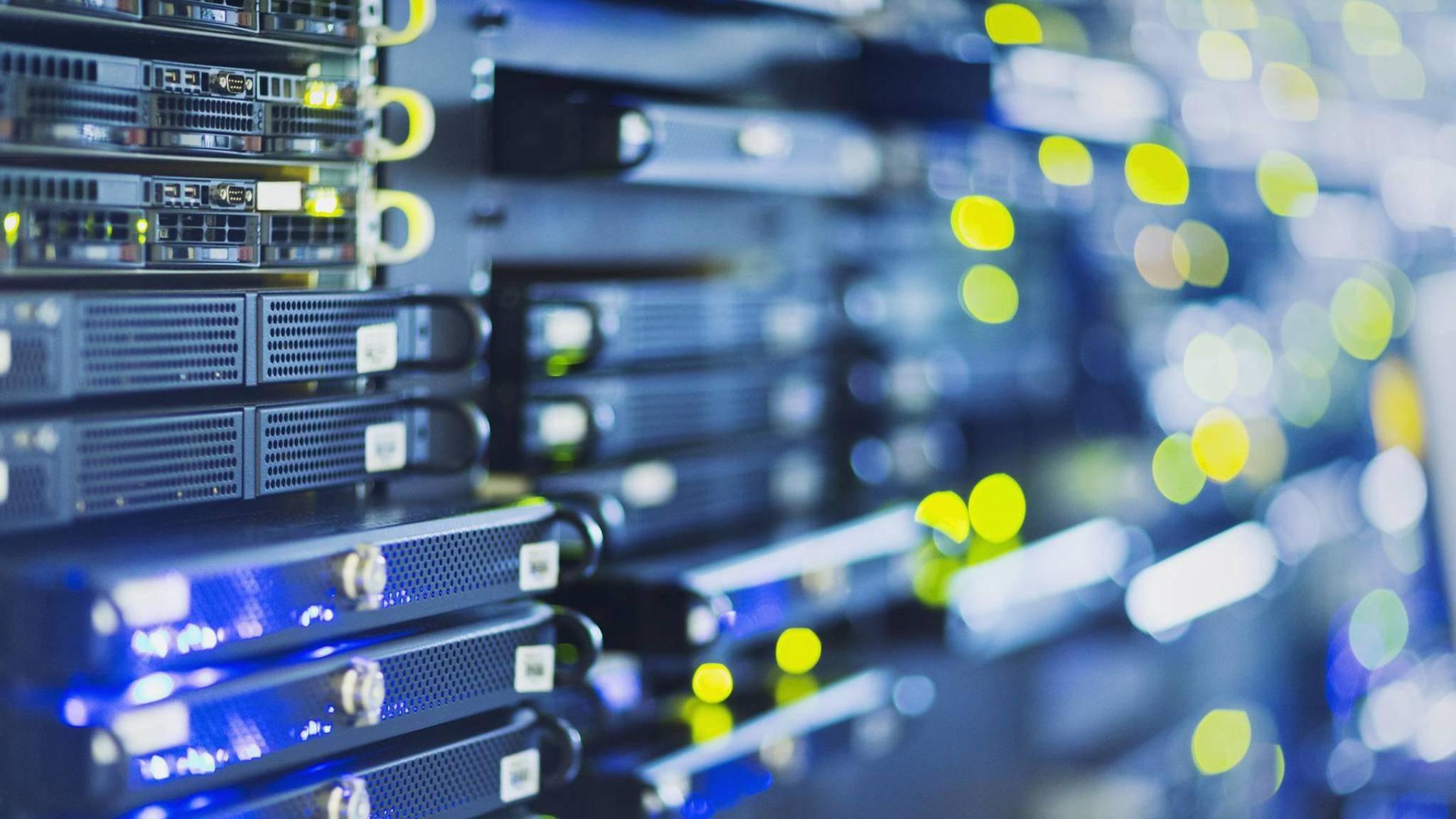 In Datenzentren werden unfassbare Mengen an Speicher benötigt.