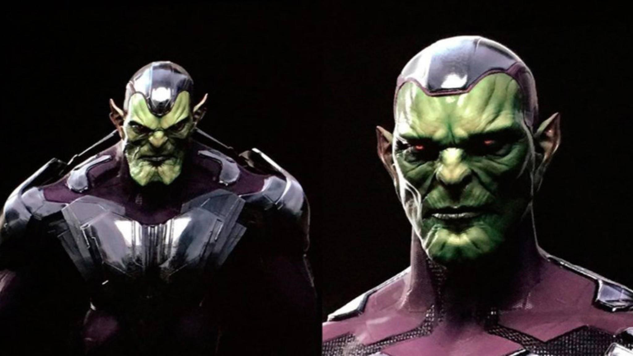 "So sollen die Skrulls in ""Captain Marvel"" laut Concept-Art-Entwurf aussehen."