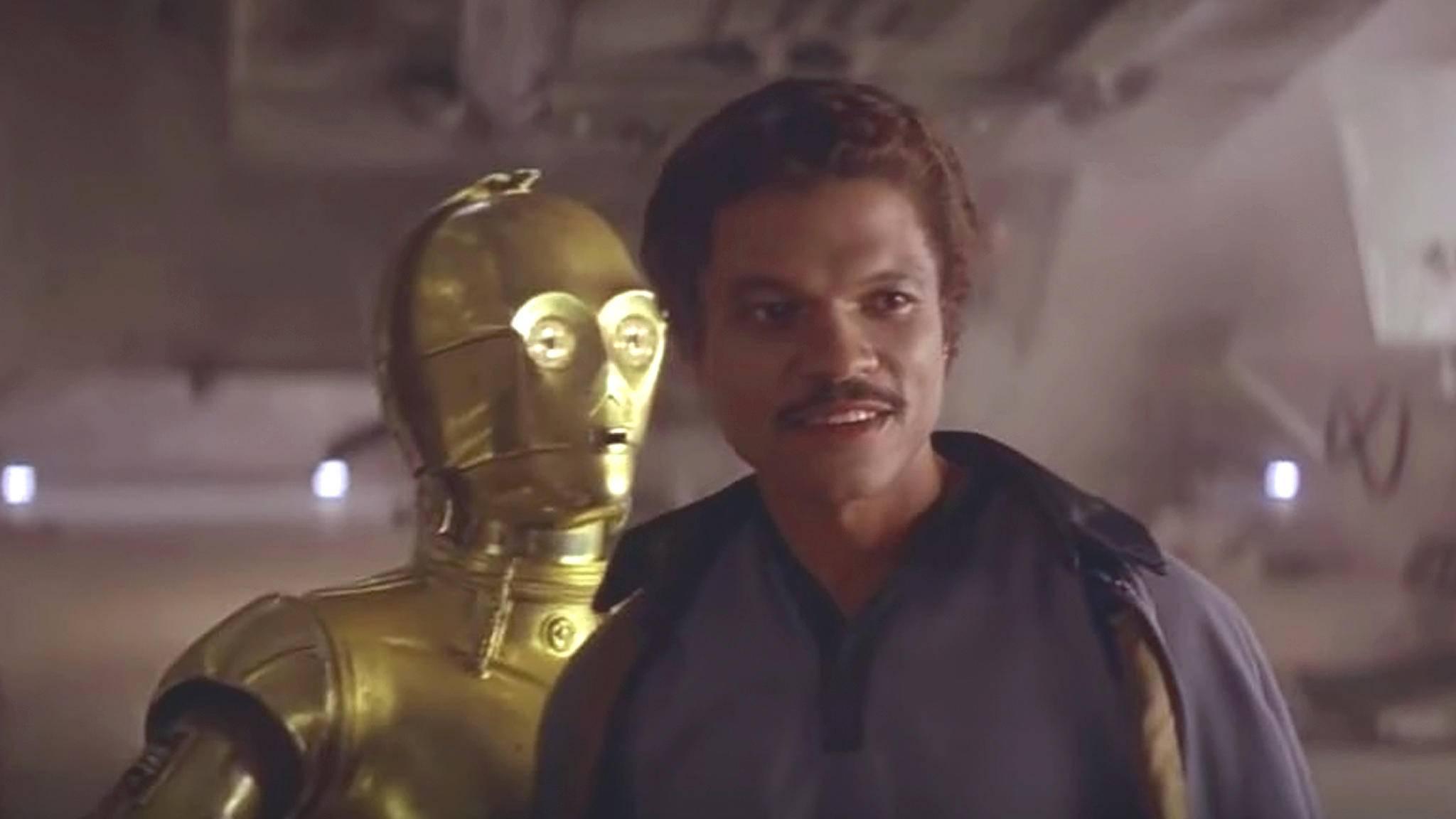 """In """"Star Wars 9"""" könnte es ein Wiedersehen mit dem Original-Lando geben."""