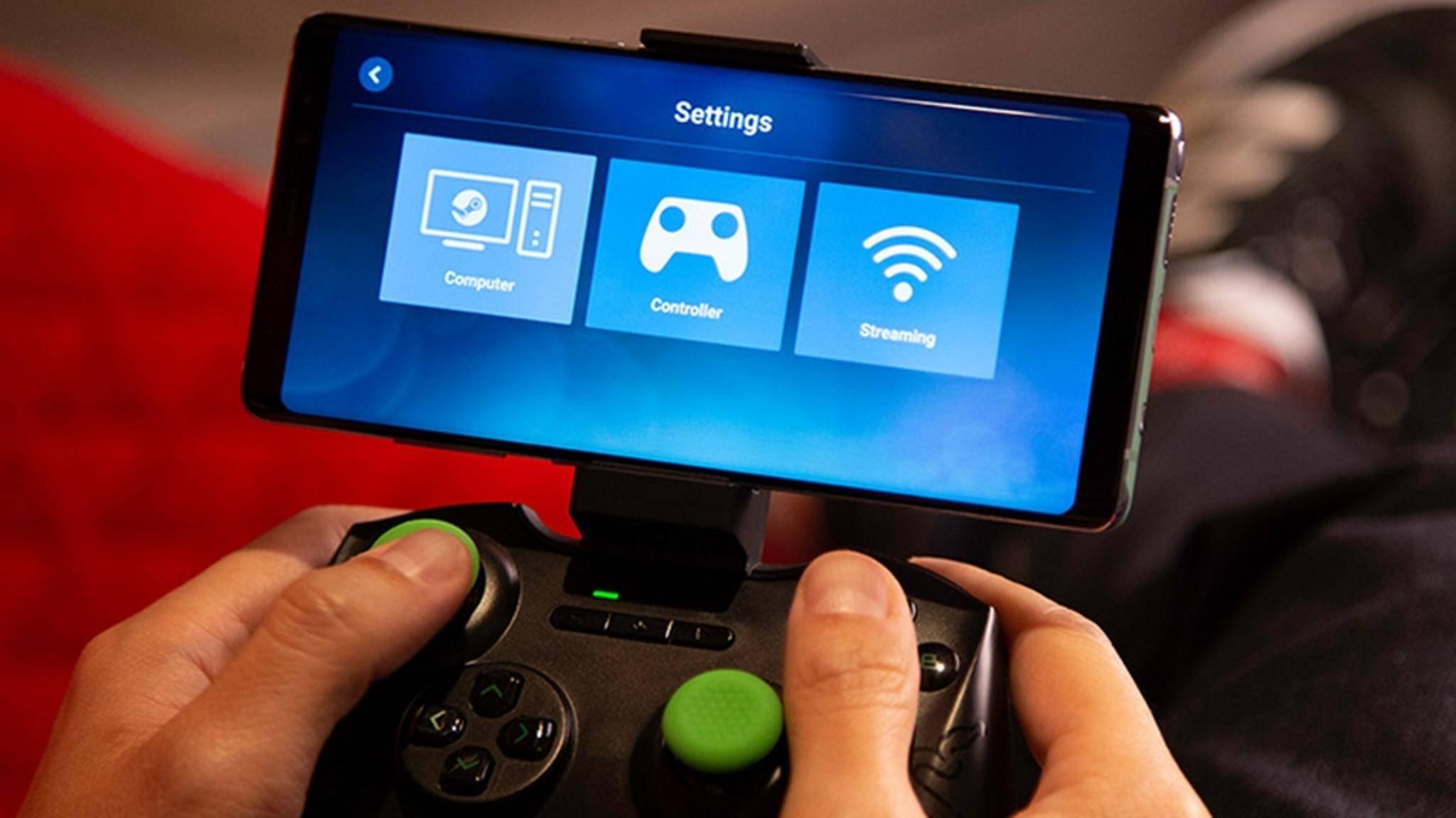 Steam Link bringt PC-Spiele auf das Smartphone.