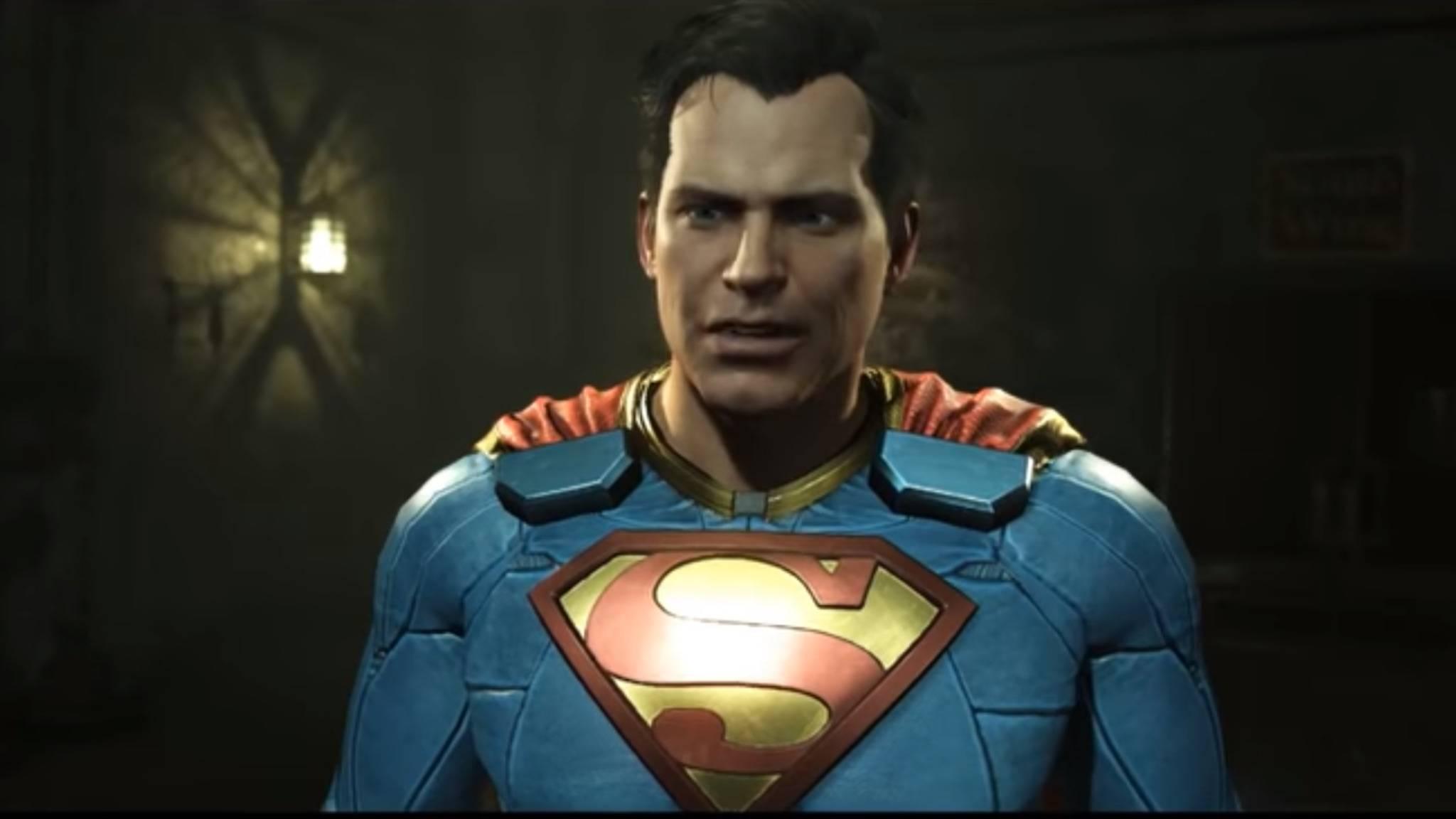 """Gastauftritte wie hier in """"Injustice 2"""" kennt Superman zur Genüge. Auf ein neues eigenes Spiel muss der Held wohl noch länger warten."""
