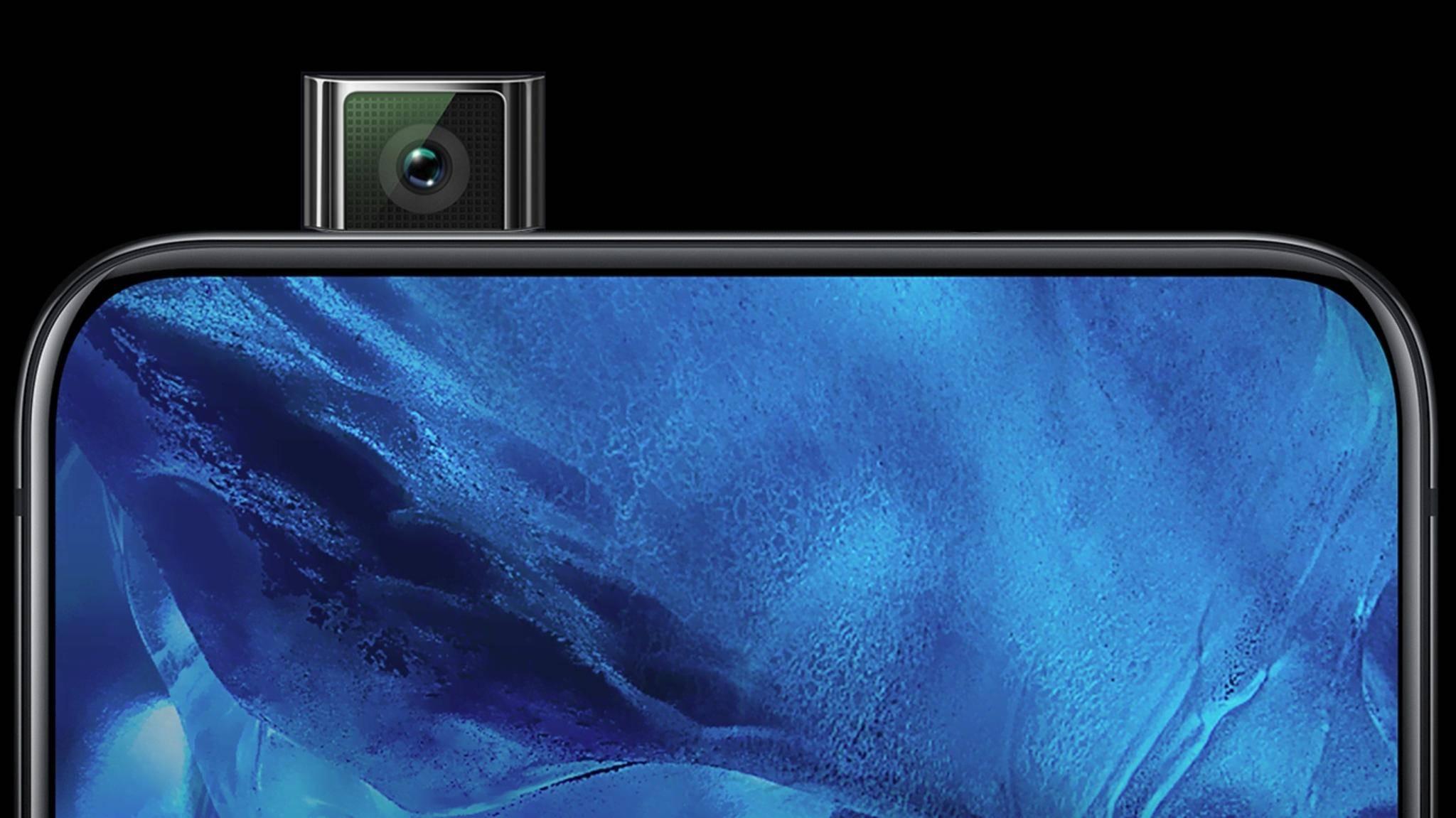 Das Vivo Nex hat eine ausfahrbare Kamera.