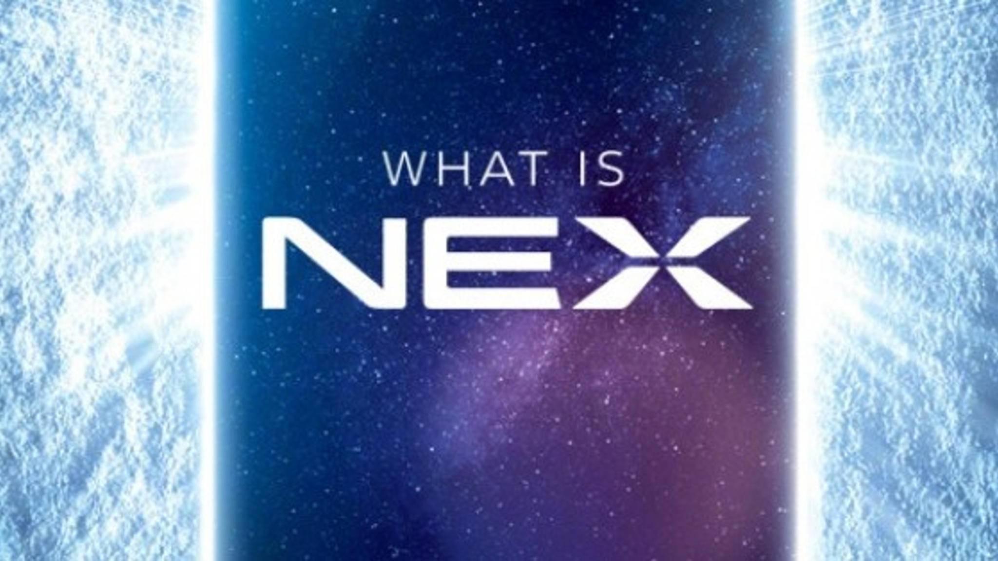 Der Prototyp Vivo Apex bekommt den Namen NEX.