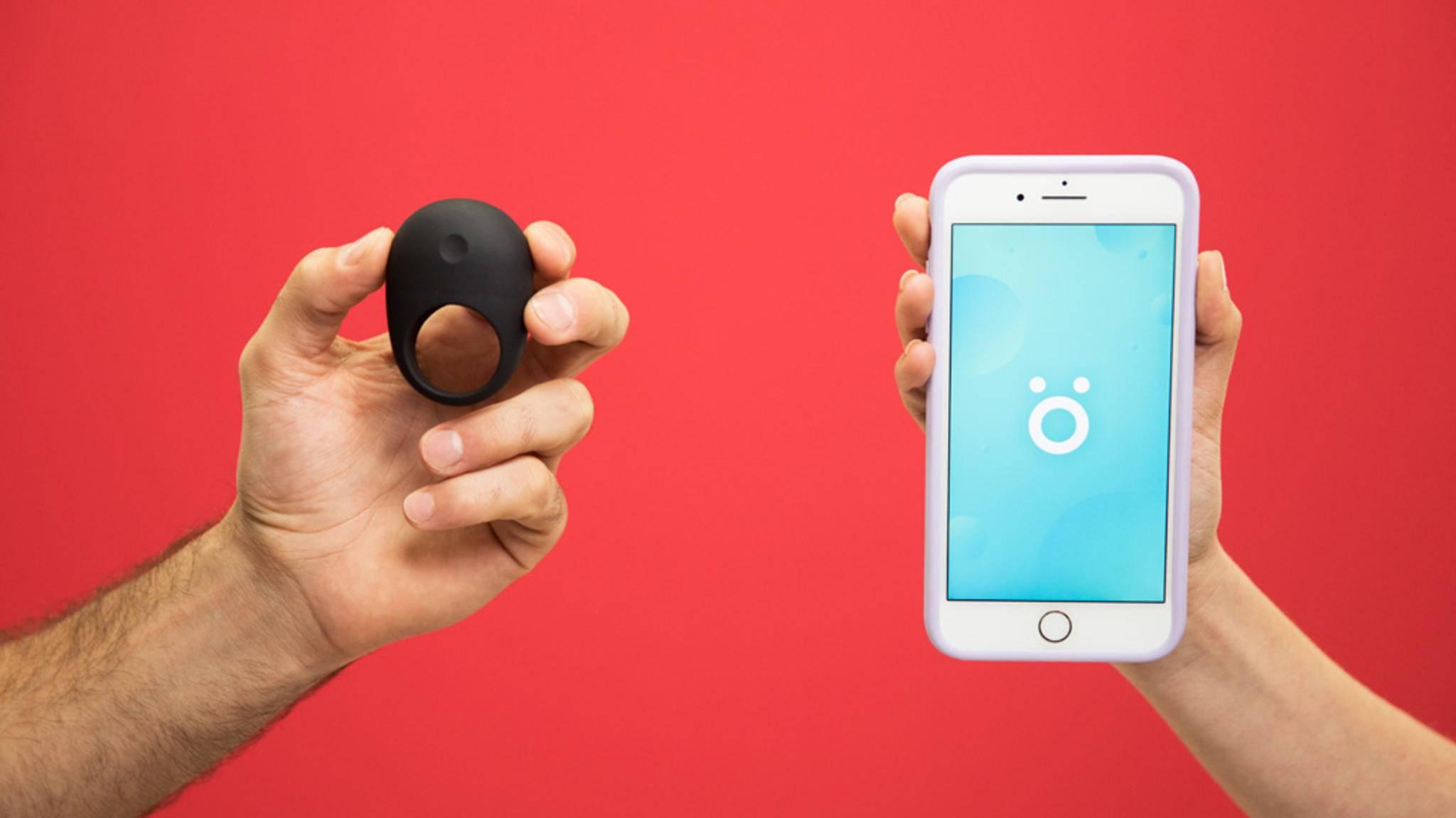 Wearable und App sollen zusammen für mehr Spaß und Leistung zwischen den Laken sorgen.