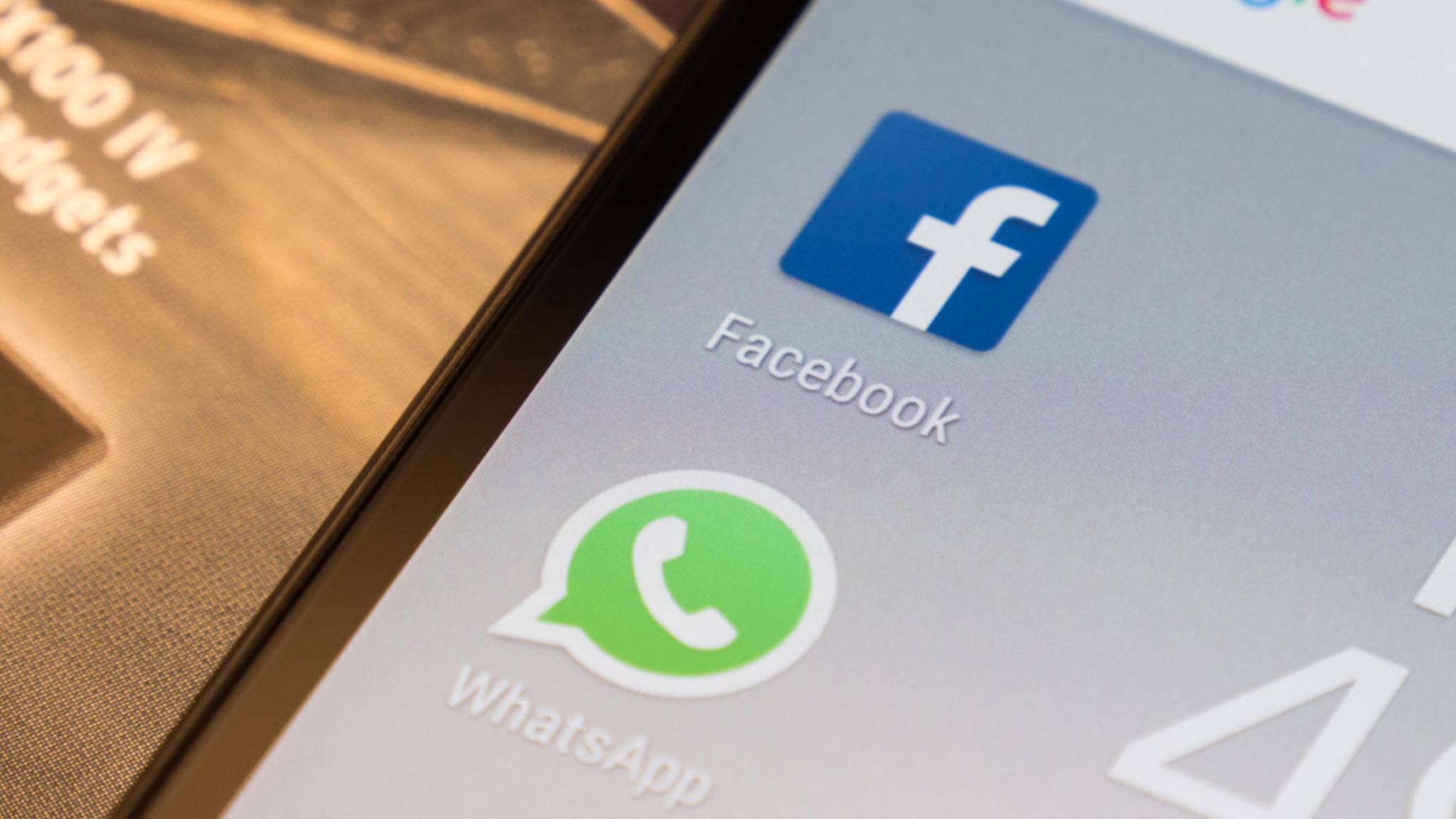 Bald nicht mehr auf Huawei-Smartphones vorinstalliert: Facebook und WhatsApp.