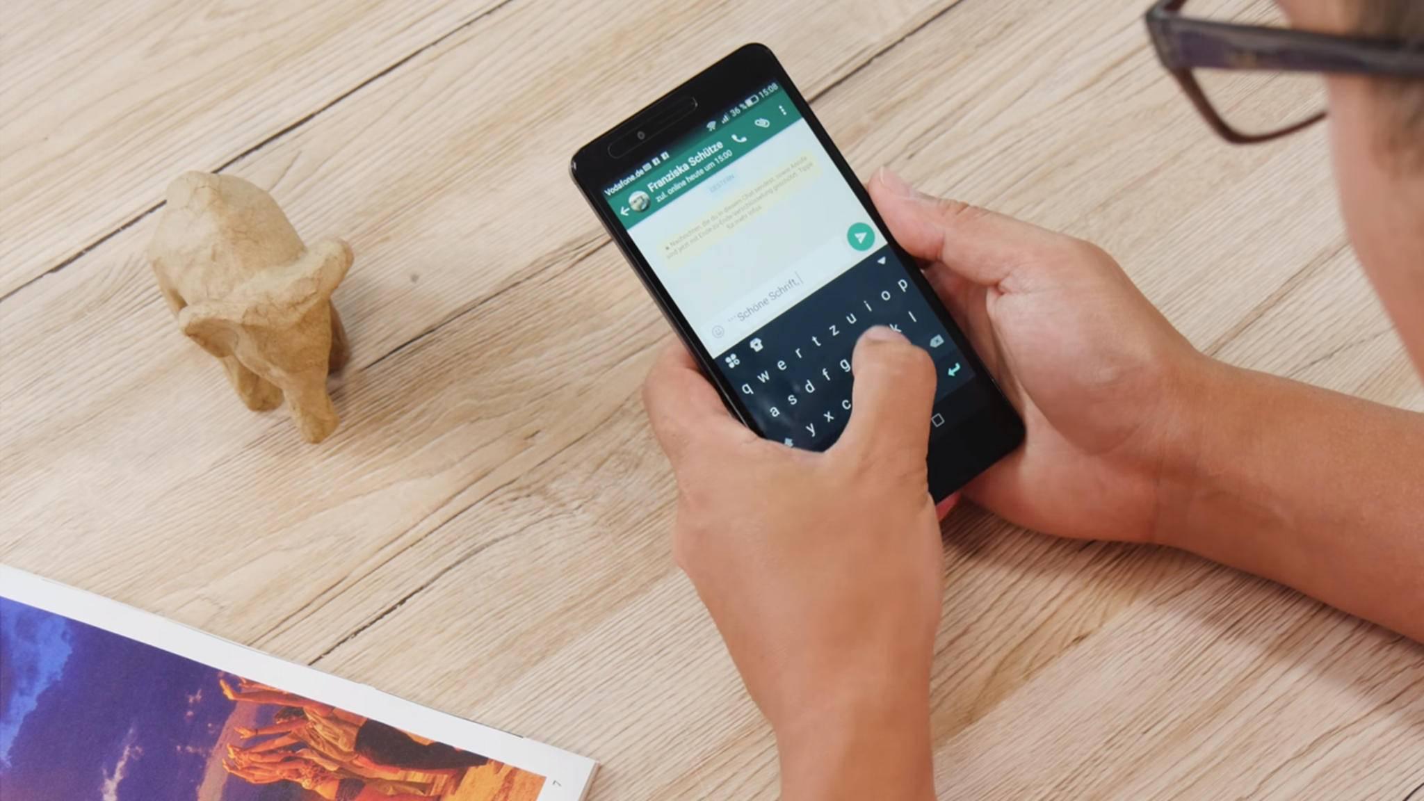 WhatsApp testet aktuell ein Limit für das Weiterleiten von Nachrichten.