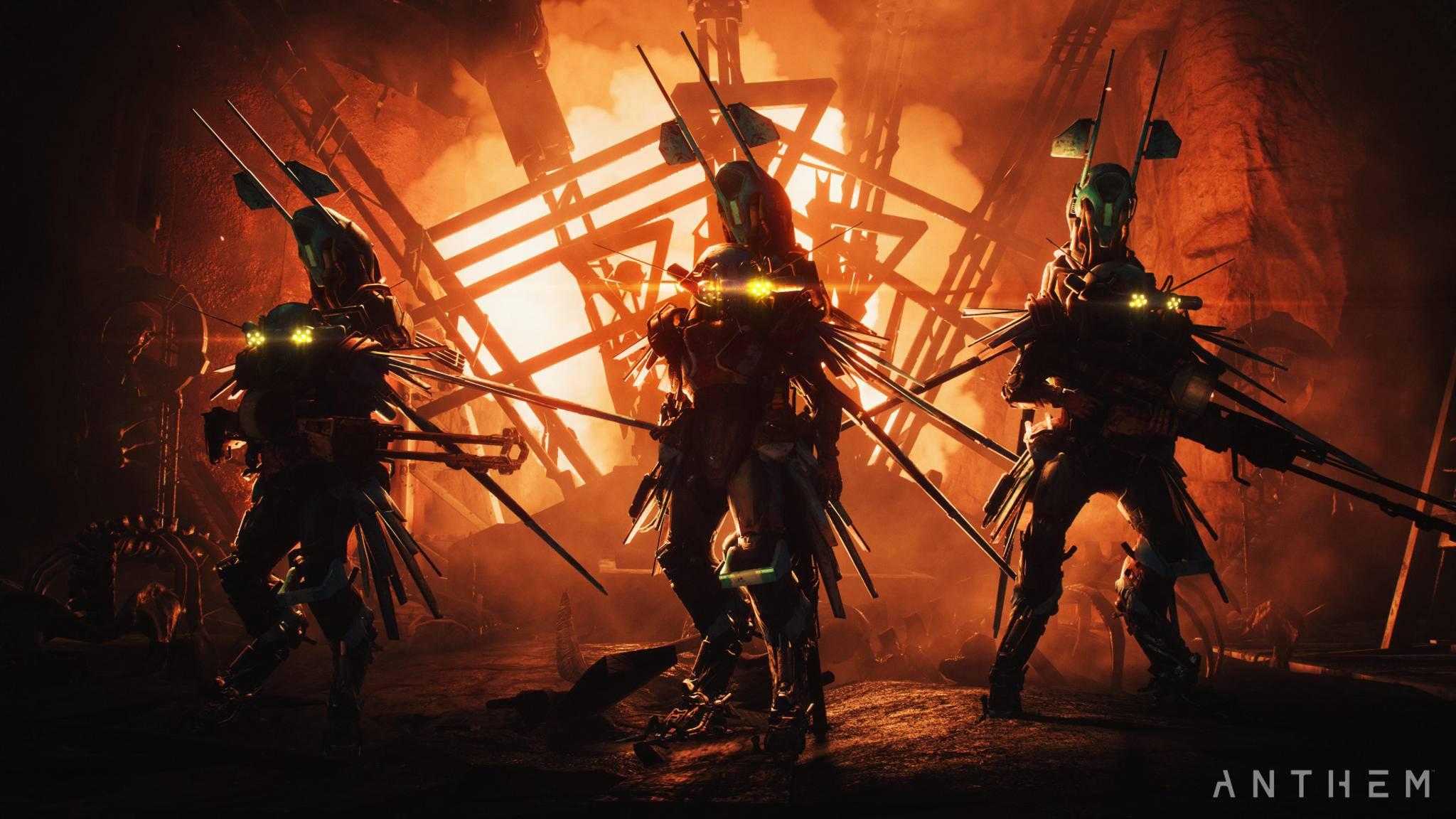 """Spiele wie """"Anthem"""" werden in EA's Frostbite-Engine realisiert. – und künftig vielleicht über die Cloud spielbar."""