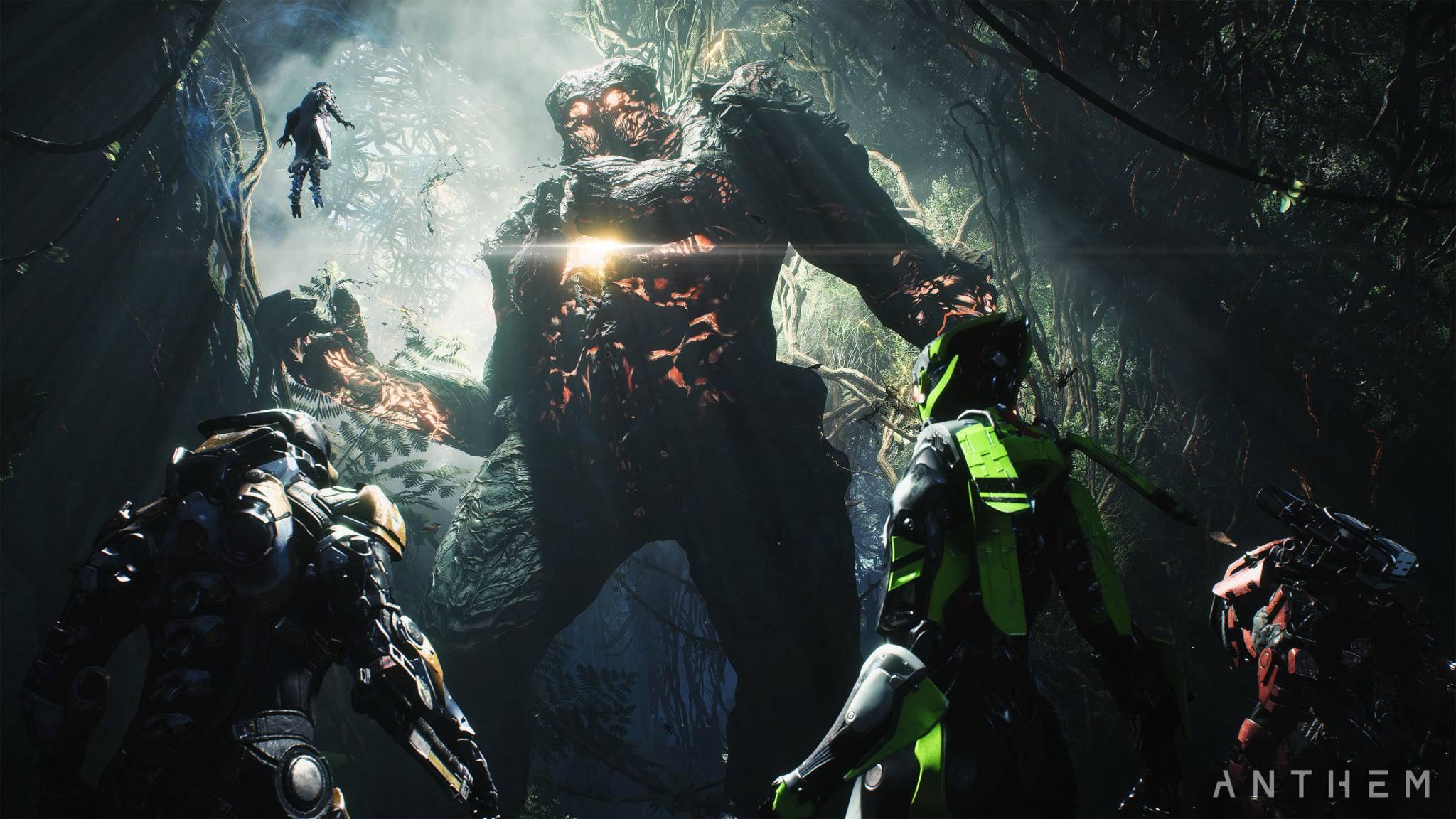 """EA legte mit """"Anthem"""" keinen guten Start hin. BioWare will das Open-World-Game nun nachträglich mit neuem Content Stück für Stück verbessern."""