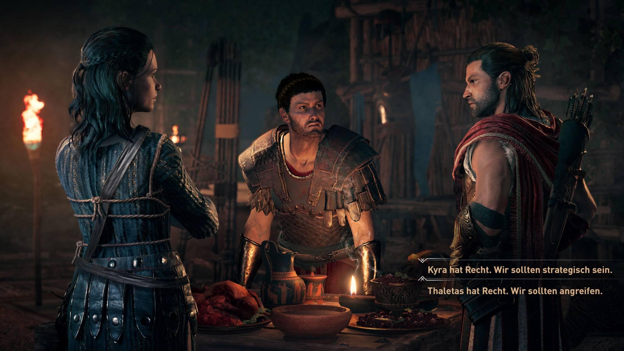 """Die Abwesenheit des Ordens in """"Assassin's Creed: Odyssey"""" ermöglicht mehr Handlungsfreiheiten."""