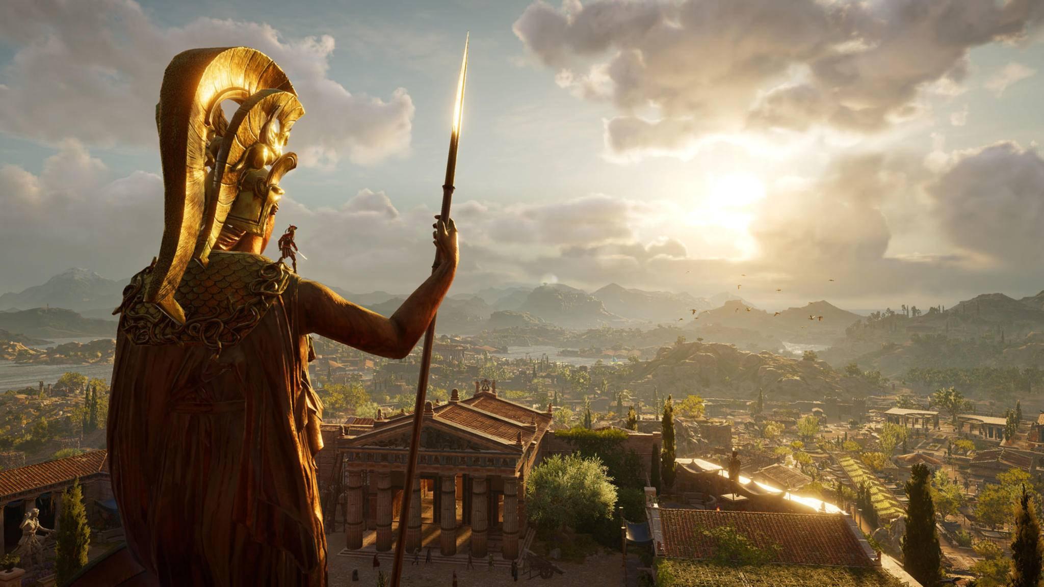 """Auch für das kommende """"Assassin's Creed: Odyssey"""" ist hoffentlich wieder ein Museumsmodus geplant."""