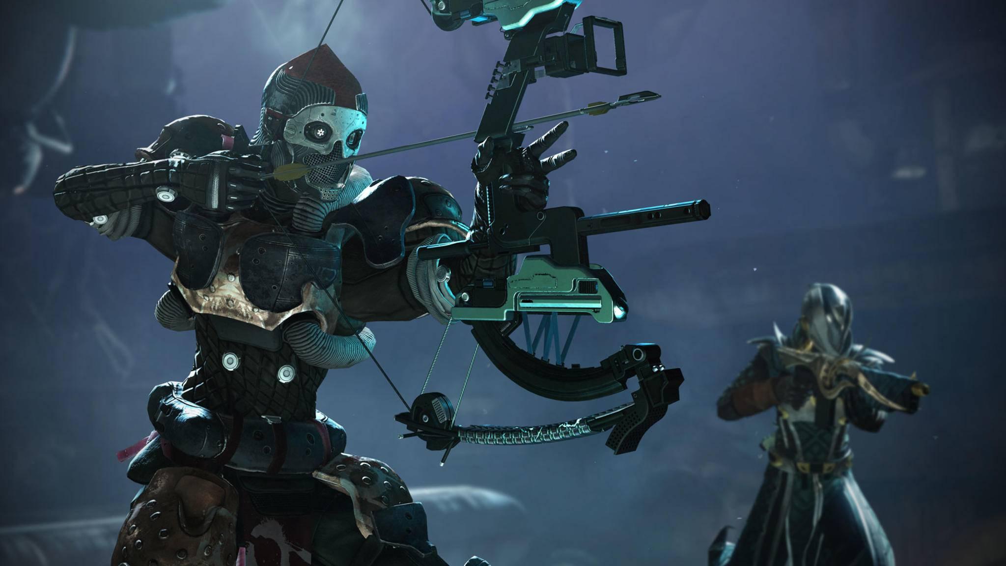 """PS4-Spieler erhalten exklusive """"Destiny 2""""-Inhalte. Konkurrenz-Produkte im Trailer will Sony deshalb nicht sehen."""