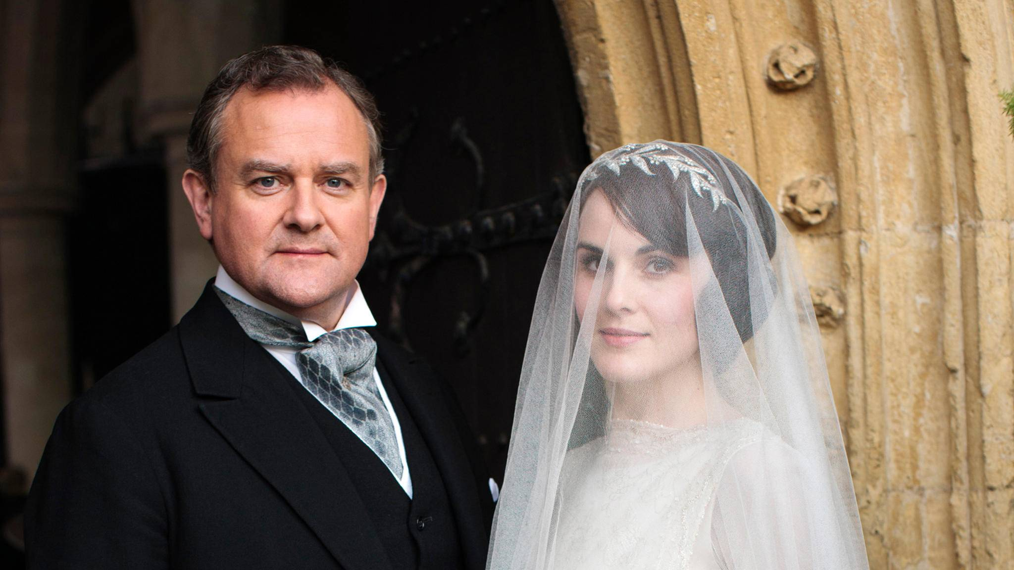 """Auch in Serien wie """"Downton Abbey"""" werden Hochzeiten zelebriert."""