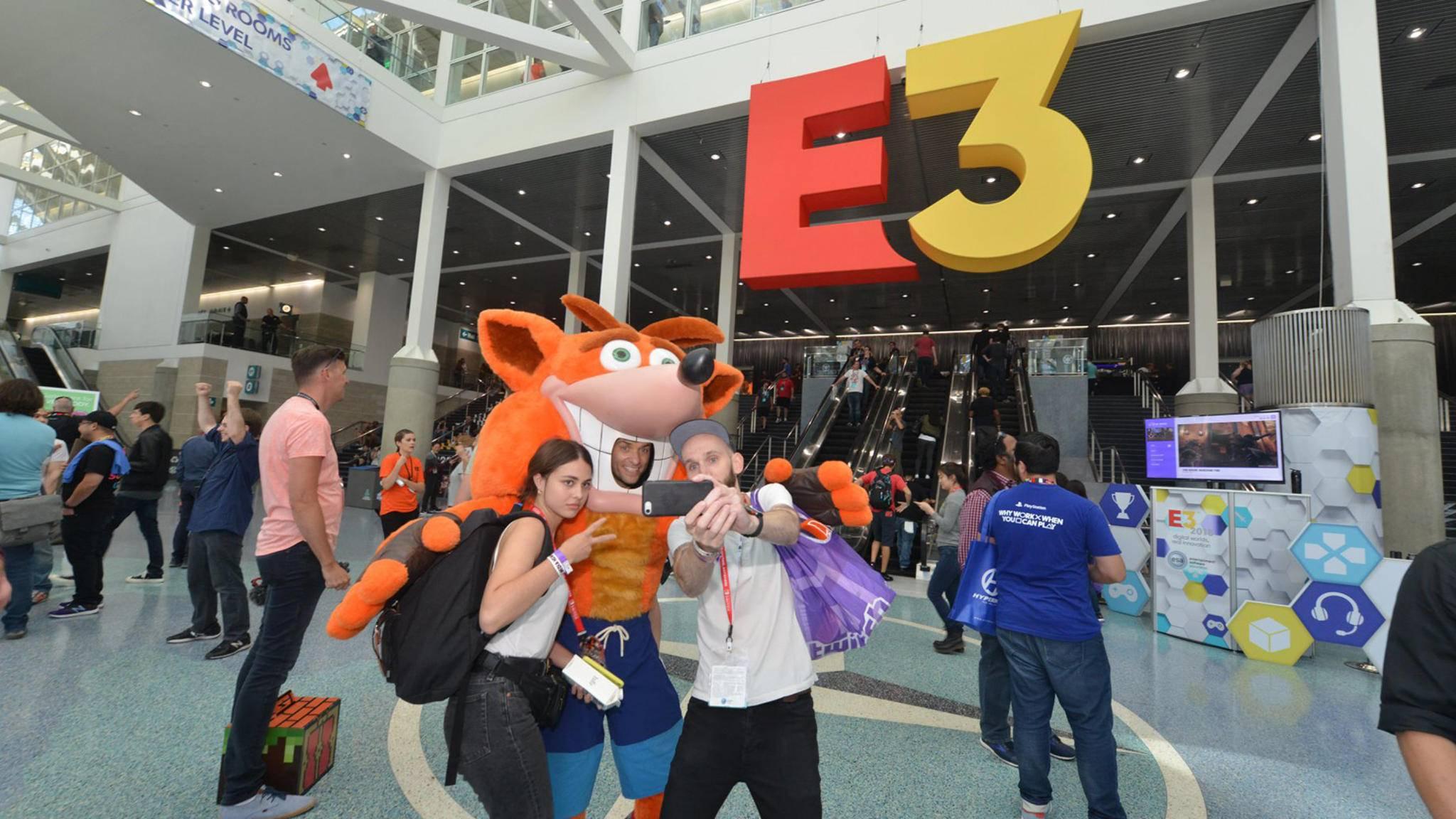 Ein Bild aus besseren Zeiten: 2018 gab's noch eine ganz normale E3. Dieses Jahr nicht.