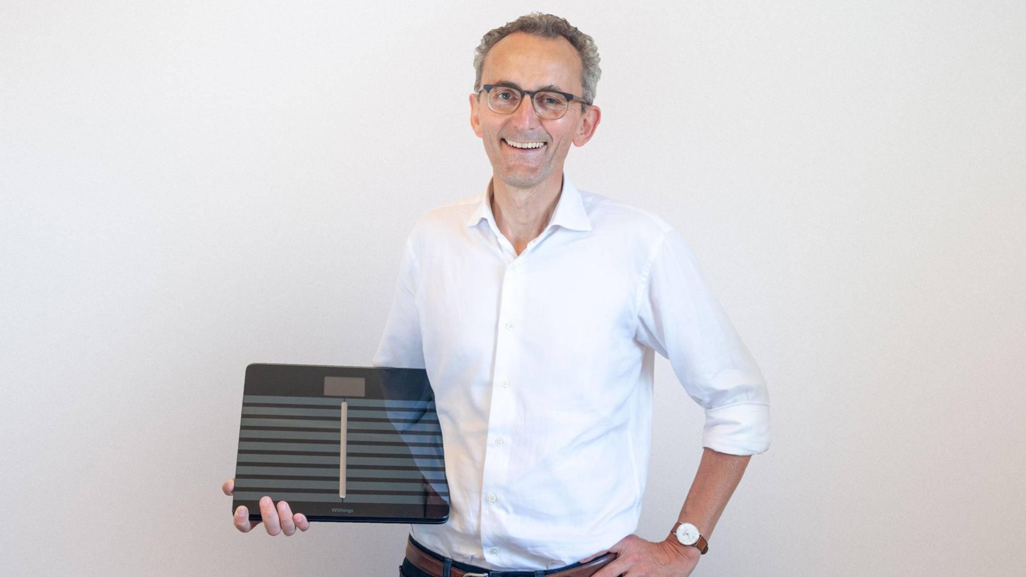 Eric Carreel plant in großem Stil: Ende 2018 will er neue Produkte auf den Markt bringen.