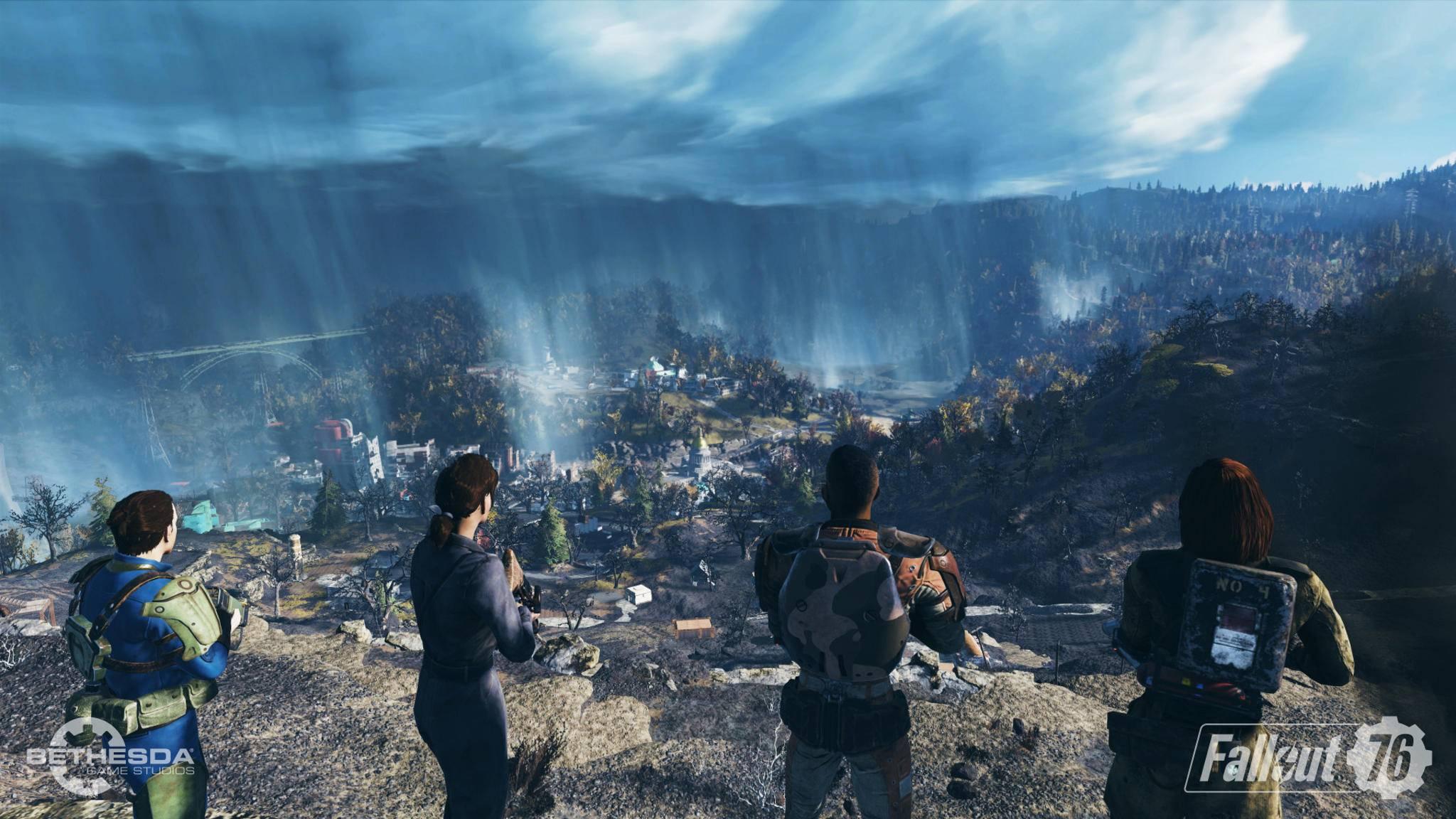 """Bethesda hat sich einiges überlegt, damit Spieler mit niedrigem Level in """"Fallout 76"""" nicht zur leichten Beute werden."""