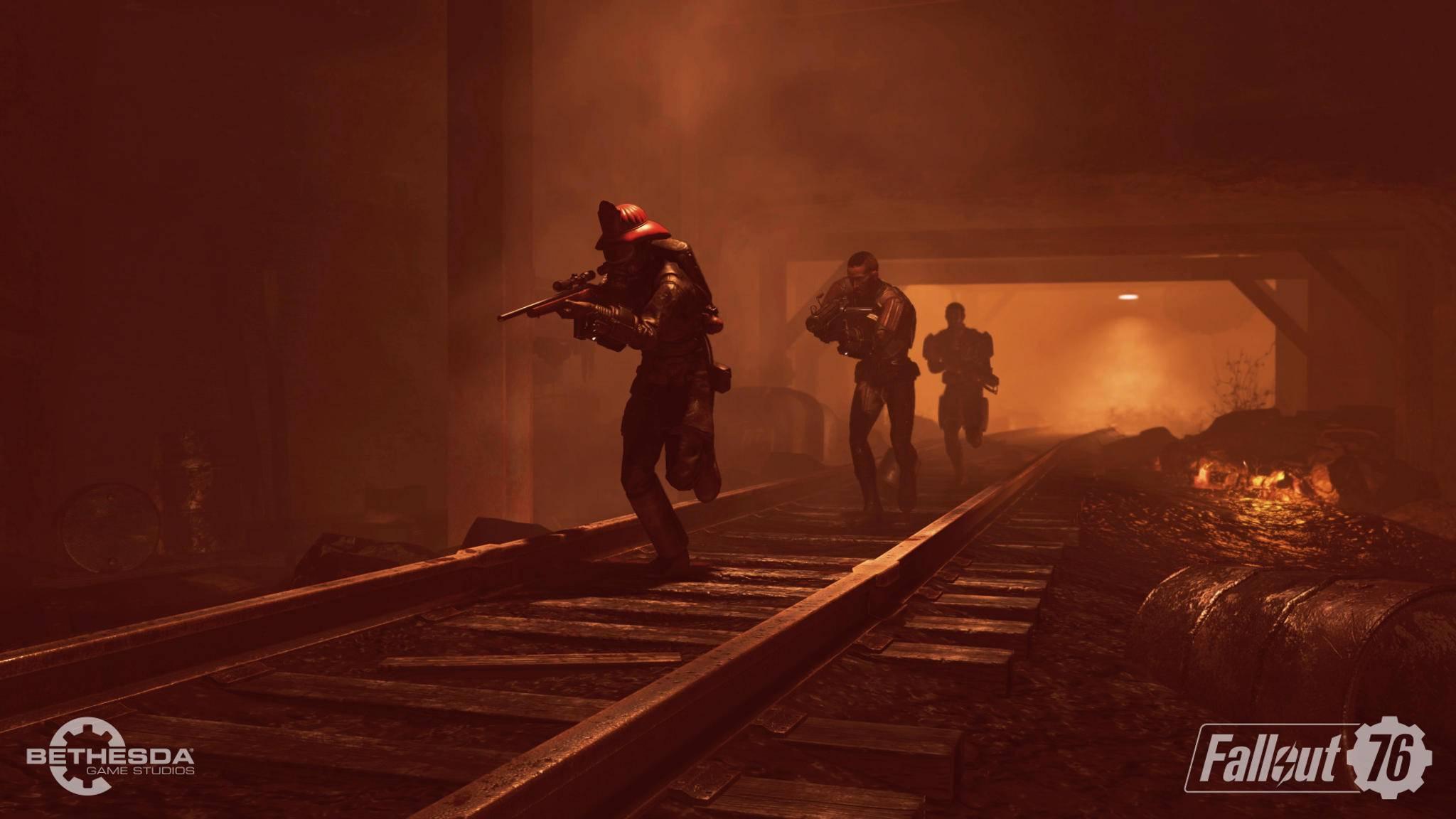 """Fallout 76"" und andere neue Bethesda-Games bleiben Battle-Royale-frei."