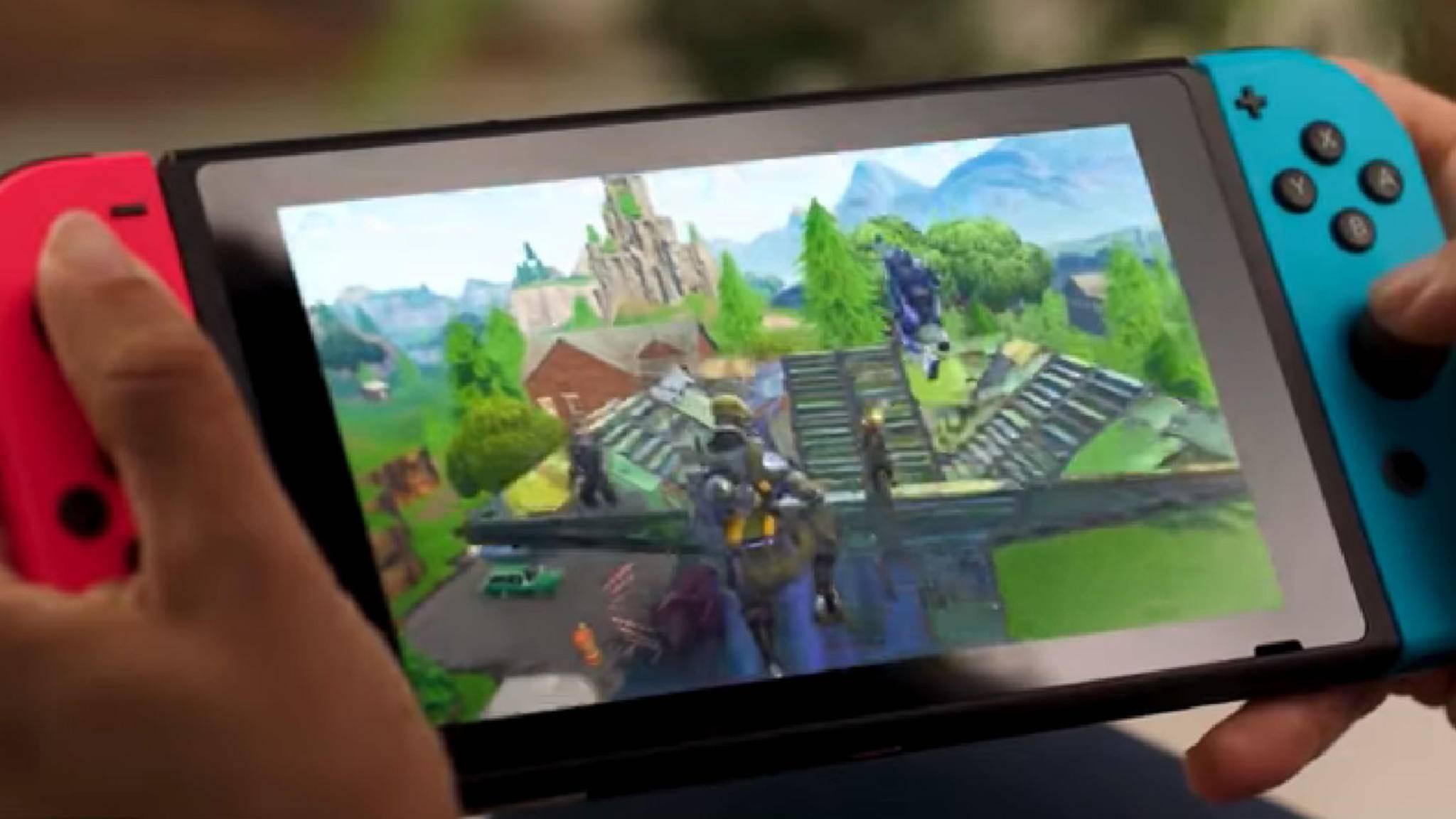"""Die Nintendo Switch und """"Fortnite"""" – das passt offenbar gut zusammen."""