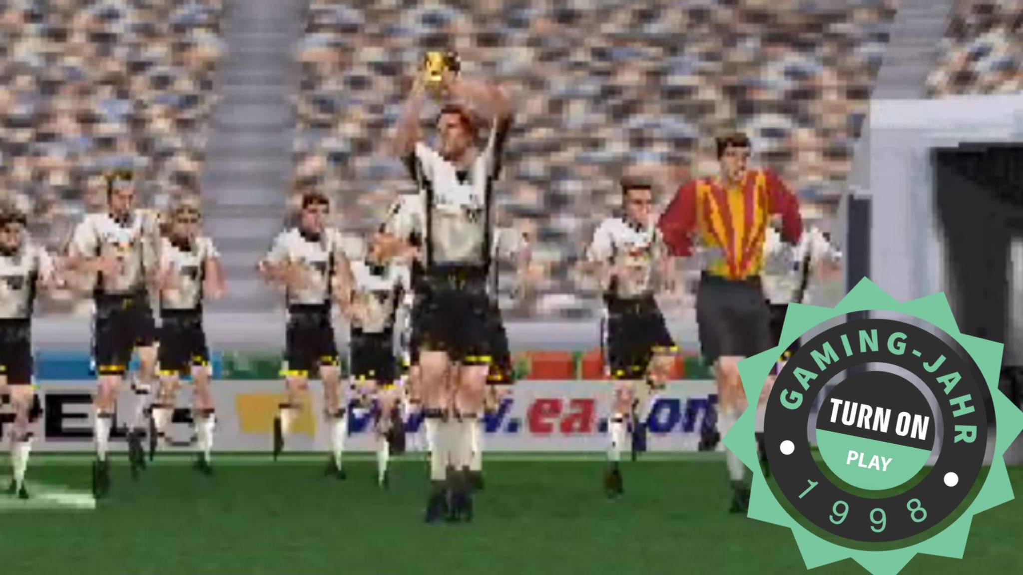 """Das waren noch Zeiten: """"Frankreich '98"""" war ein ganz besonderes Sportspiel."""