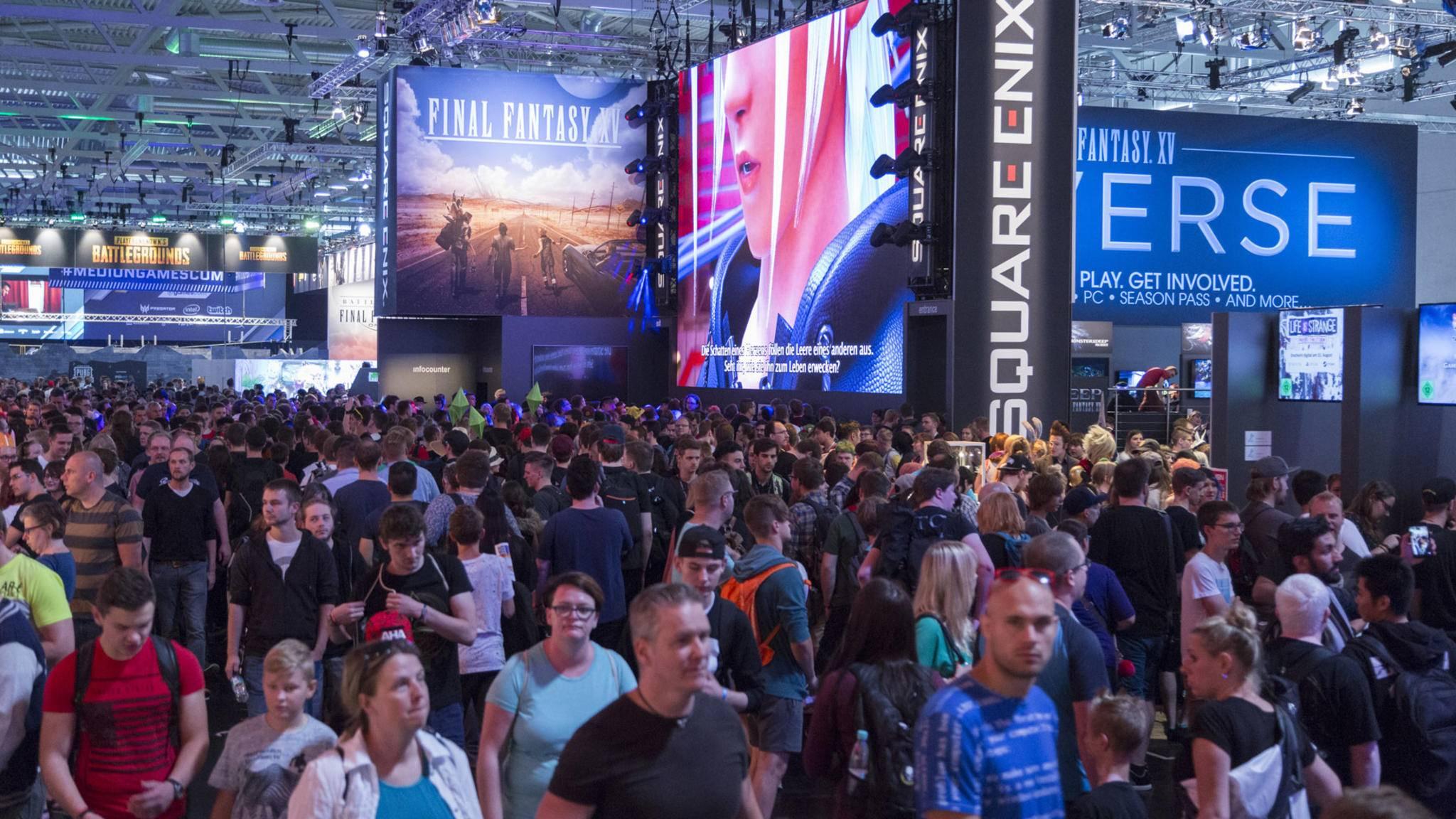 Gamescom: Auch in diesem Jahr wird es voll.