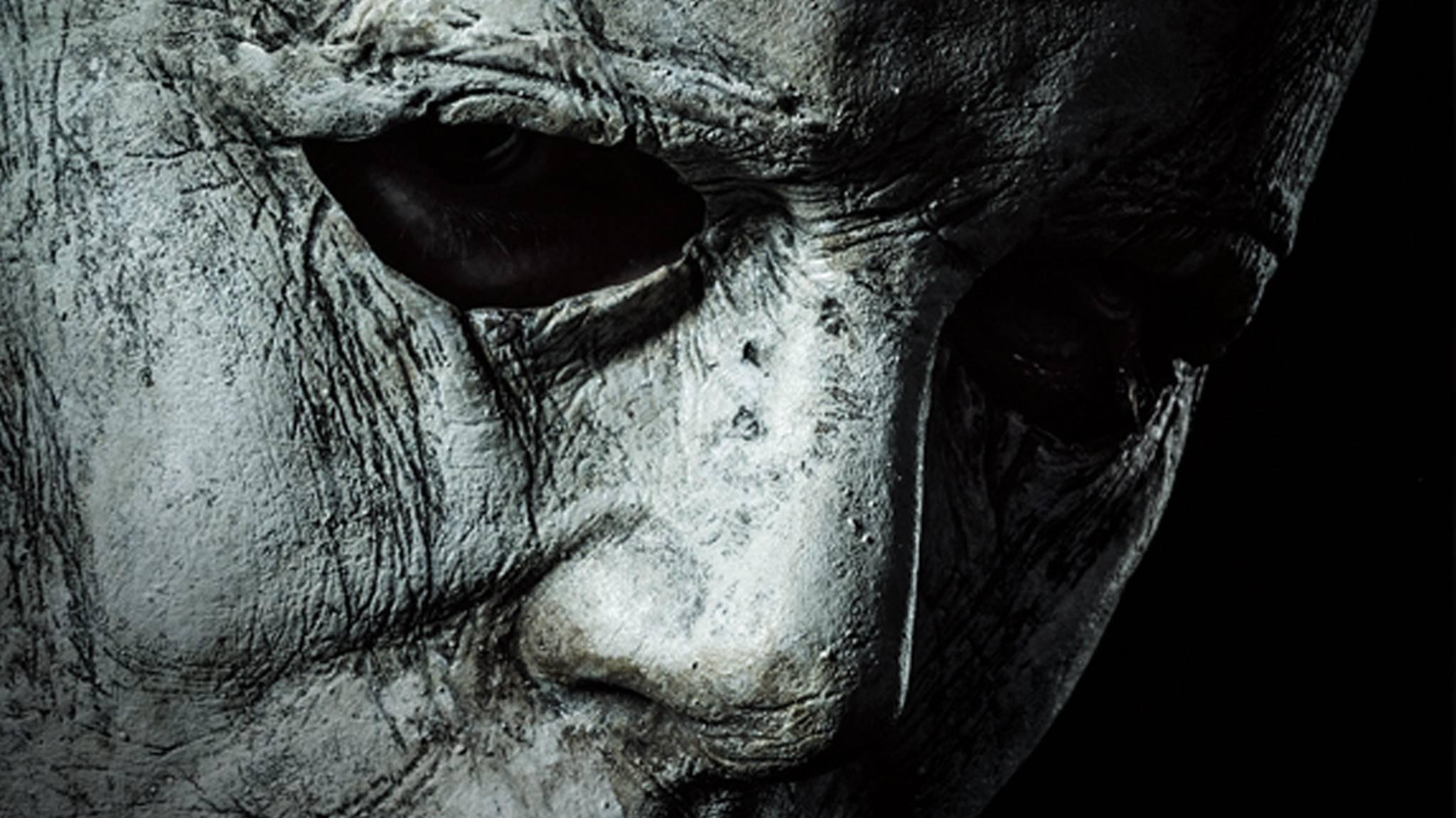 """Michael Myers schockt auf den ersten Bildern zum neuen """"Halloween""""-Film."""