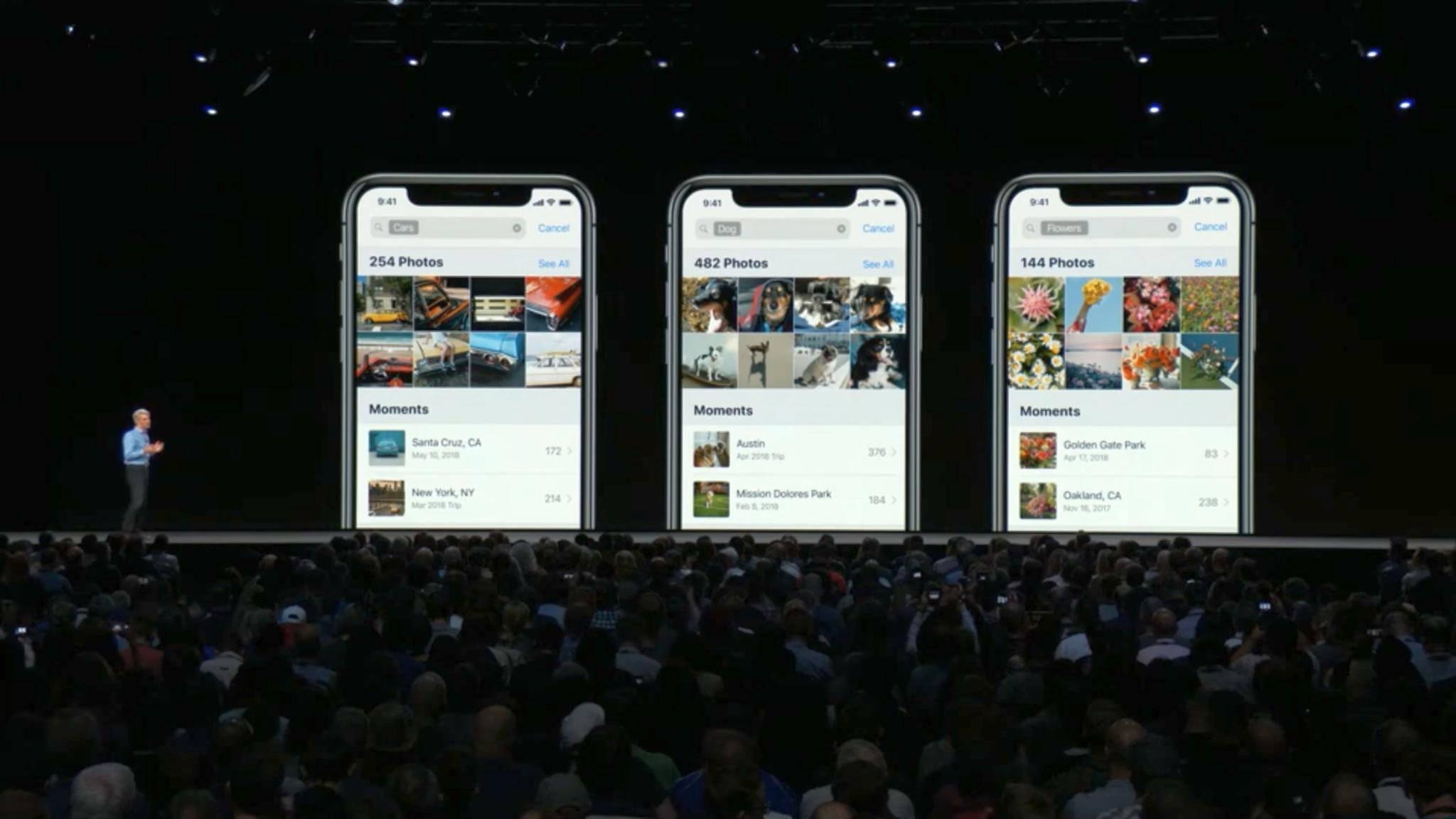 iOS 12 bringt mehr Features für die Fotos-App.
