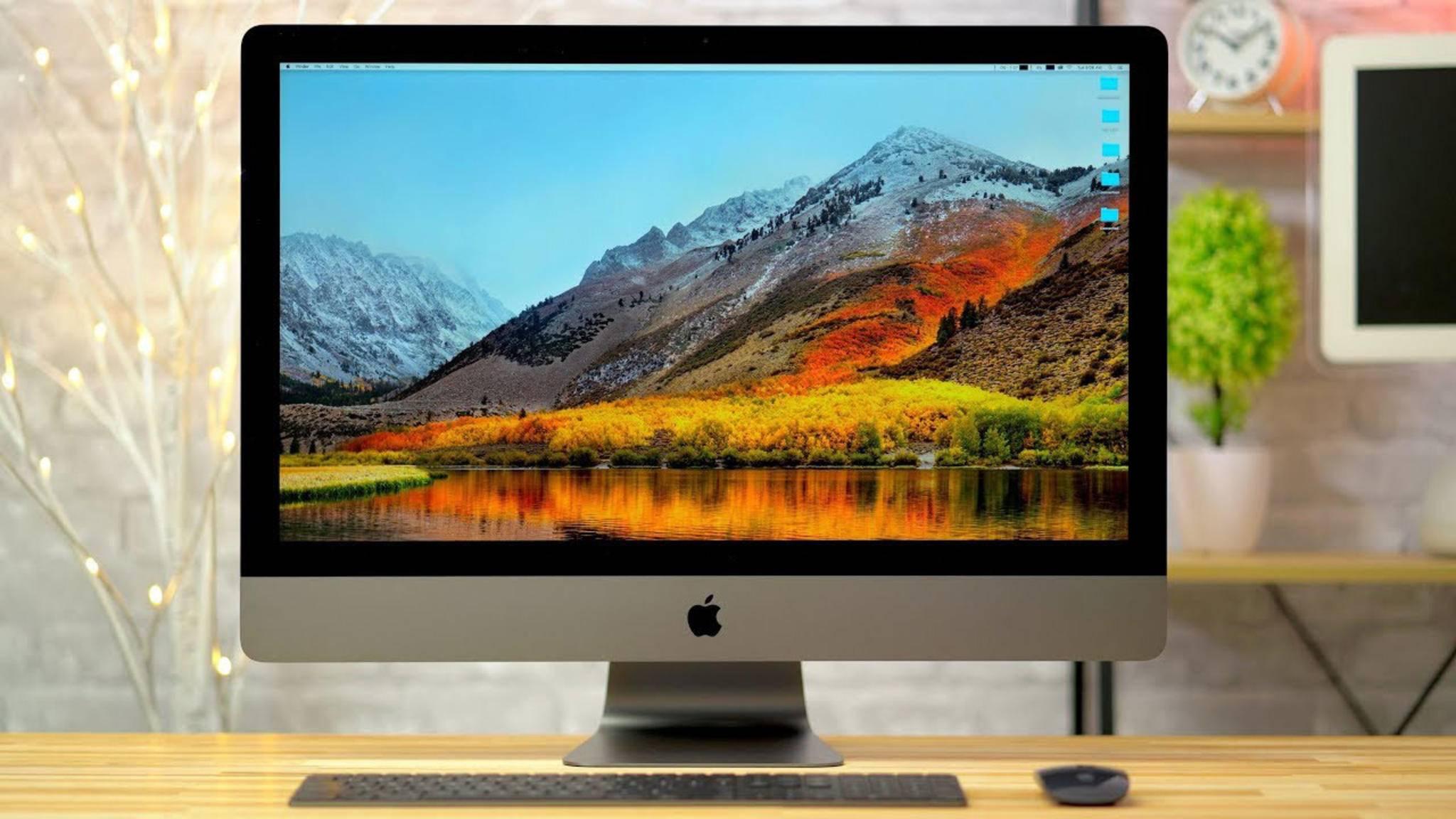 Gerüchte deuten darauf hin, dass Apple noch in dieser Woche einen neuen iMac vorstellt.
