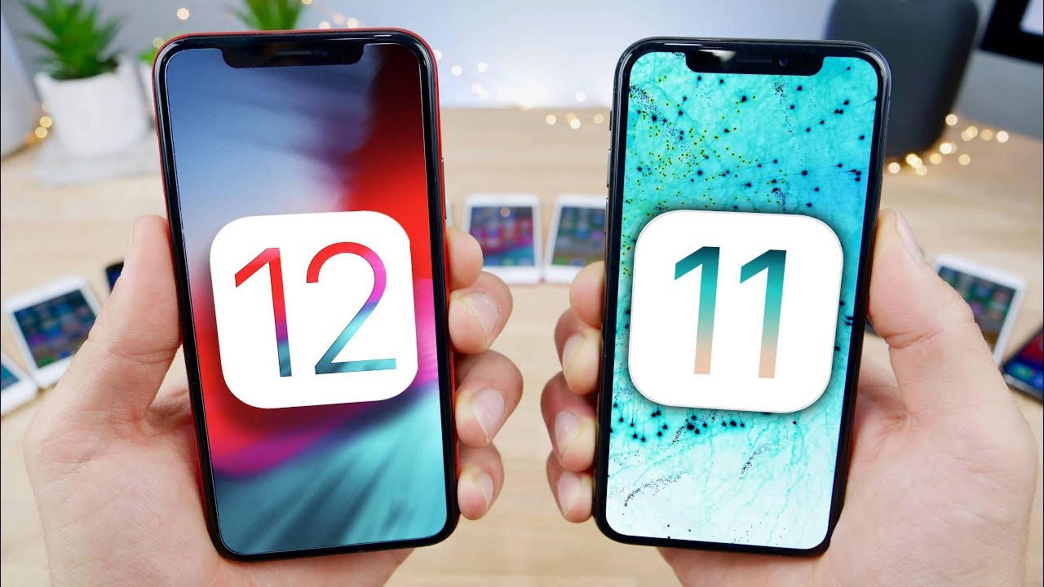 iOS 12 verbessert einige Funktionen, die in iOS 11 noch stören.