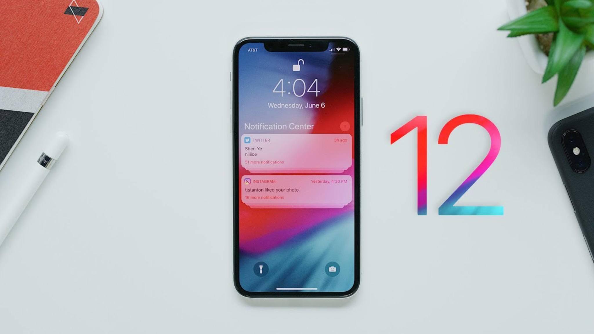 iOS 12 soll vor allem für ältere Geräte eine bessere Performance bringen.