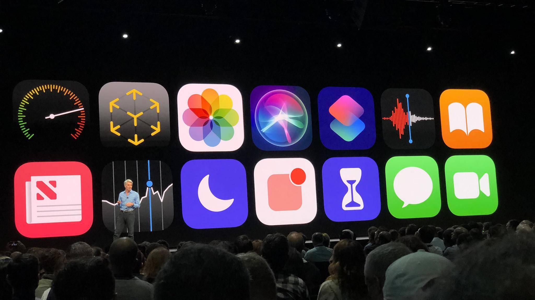 iOS 12 wurde vorgestellt und bringt unter anderem gruppierte Benachrichtigungen.