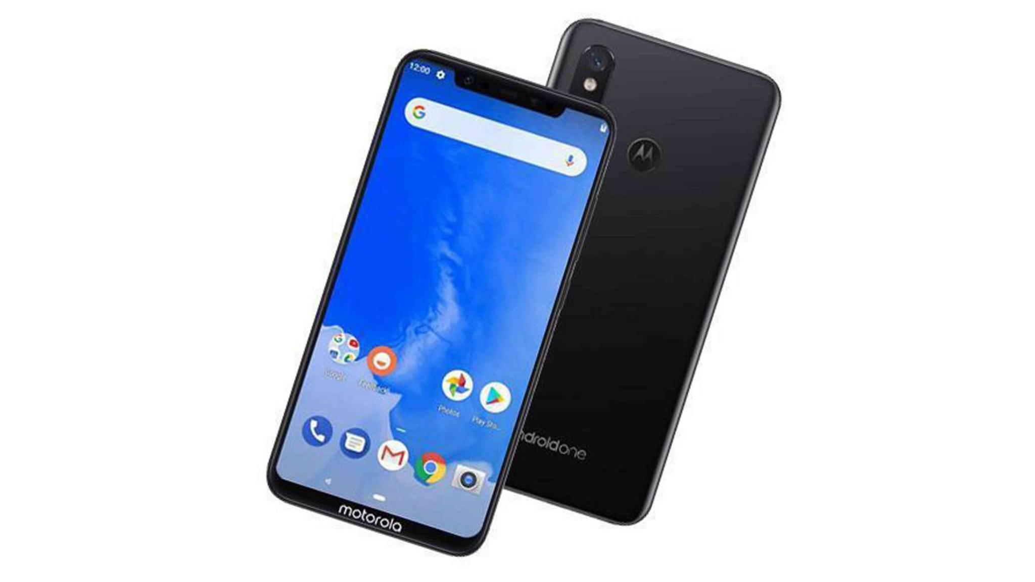 So soll das Motorola One Power angeblich aussehen.