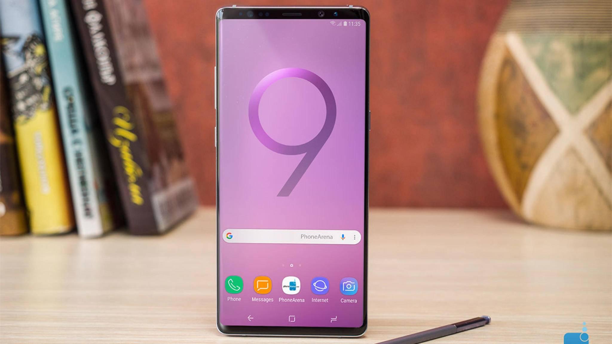 Das Galaxy Note 9 (Konzeptbild) wird am 9. August vorgestellt.