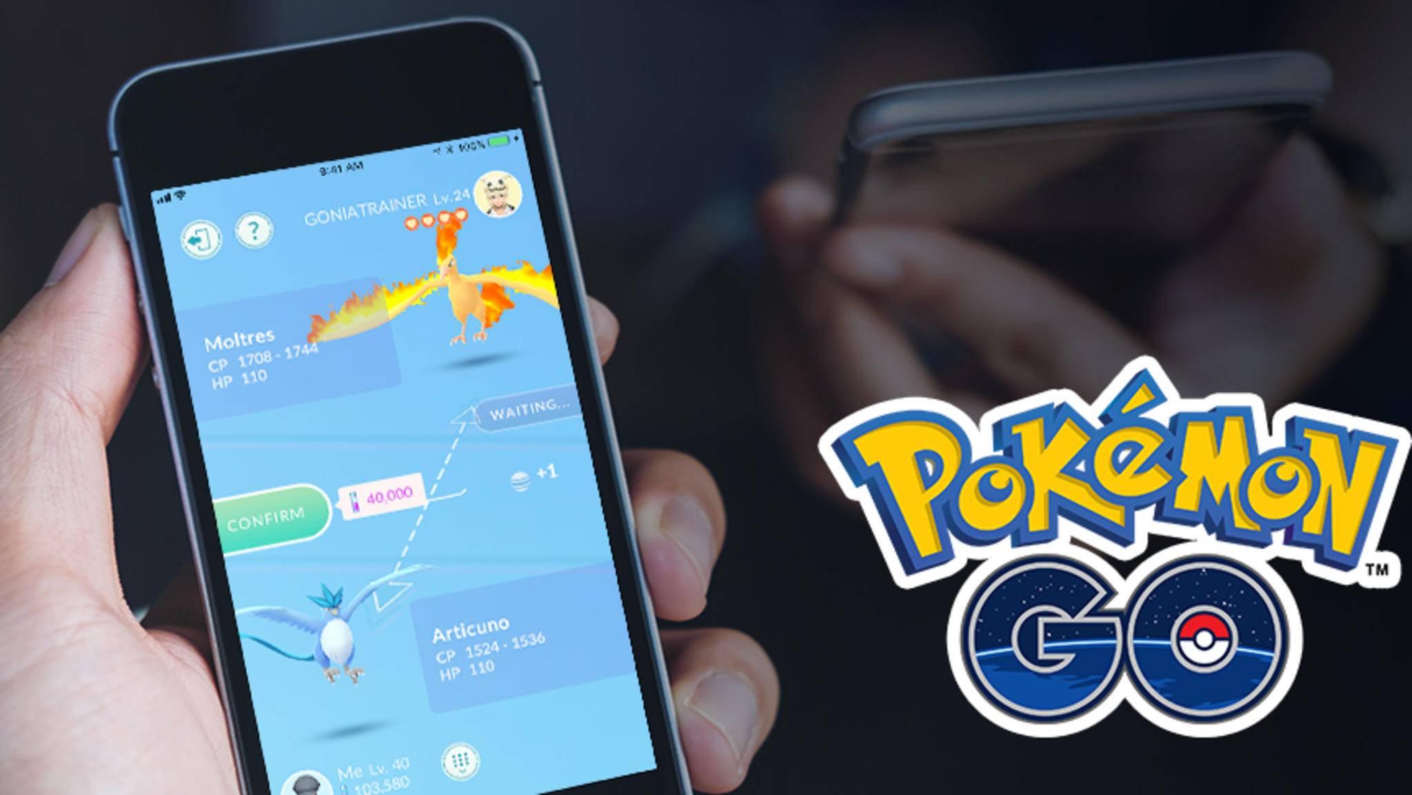 """Bald kannst Du direkt gegen andere Trainer in """"Pokémon Go"""" antreten."""