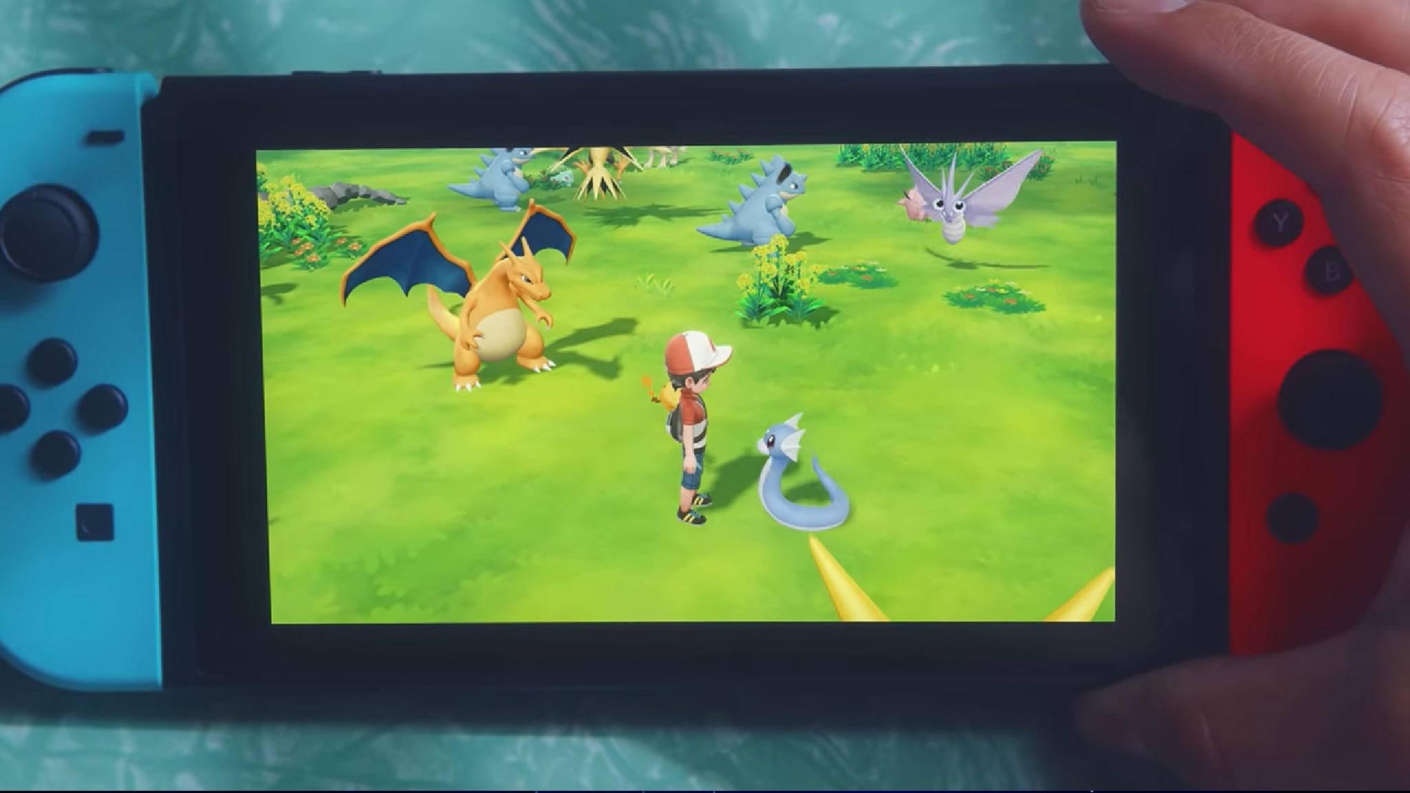 """""""Pokémon Let's Go!"""" fährt die Online-Funktionalität im Vergleich zu den jüngsten RPGs etwas zurück."""