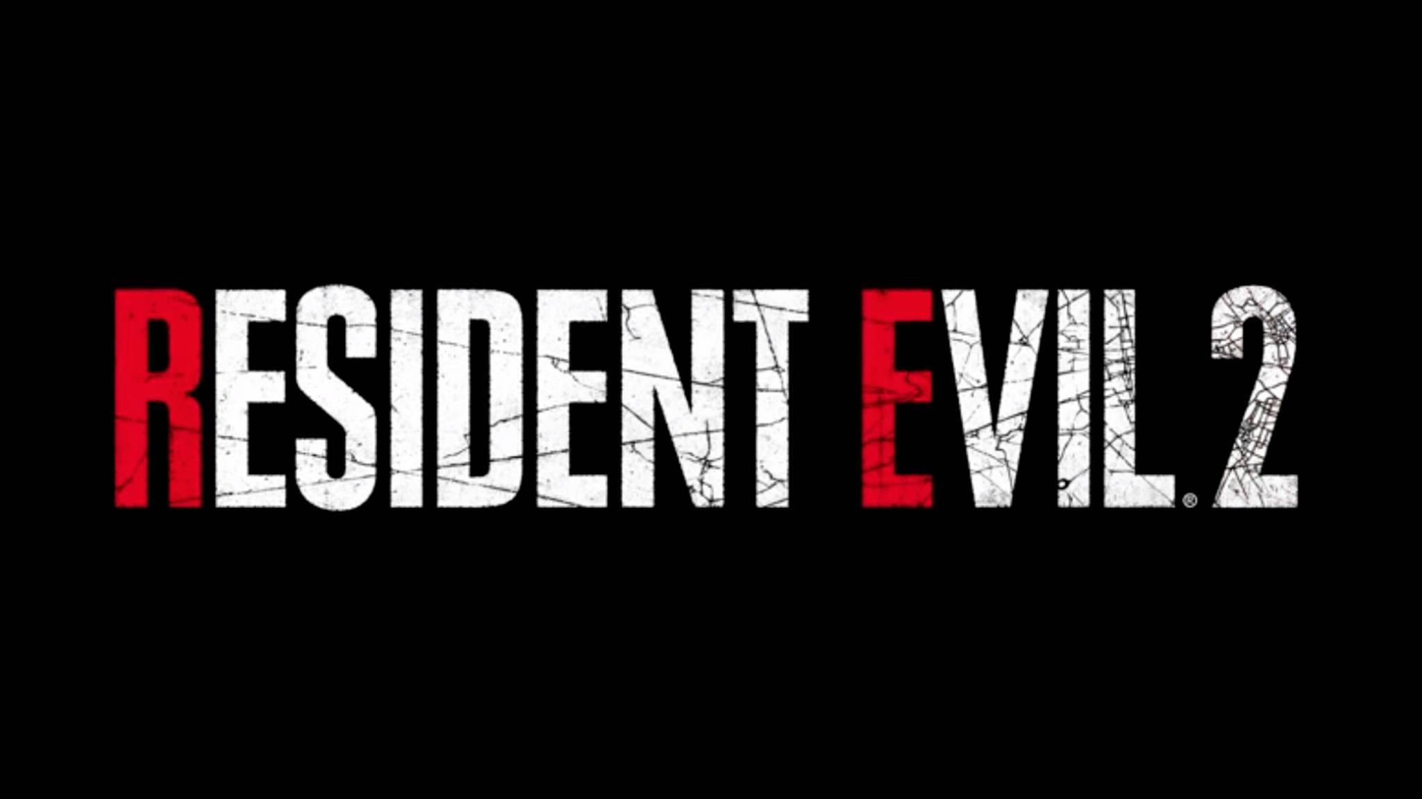 """Logo """"Resident Evil 2 Remake"""""""