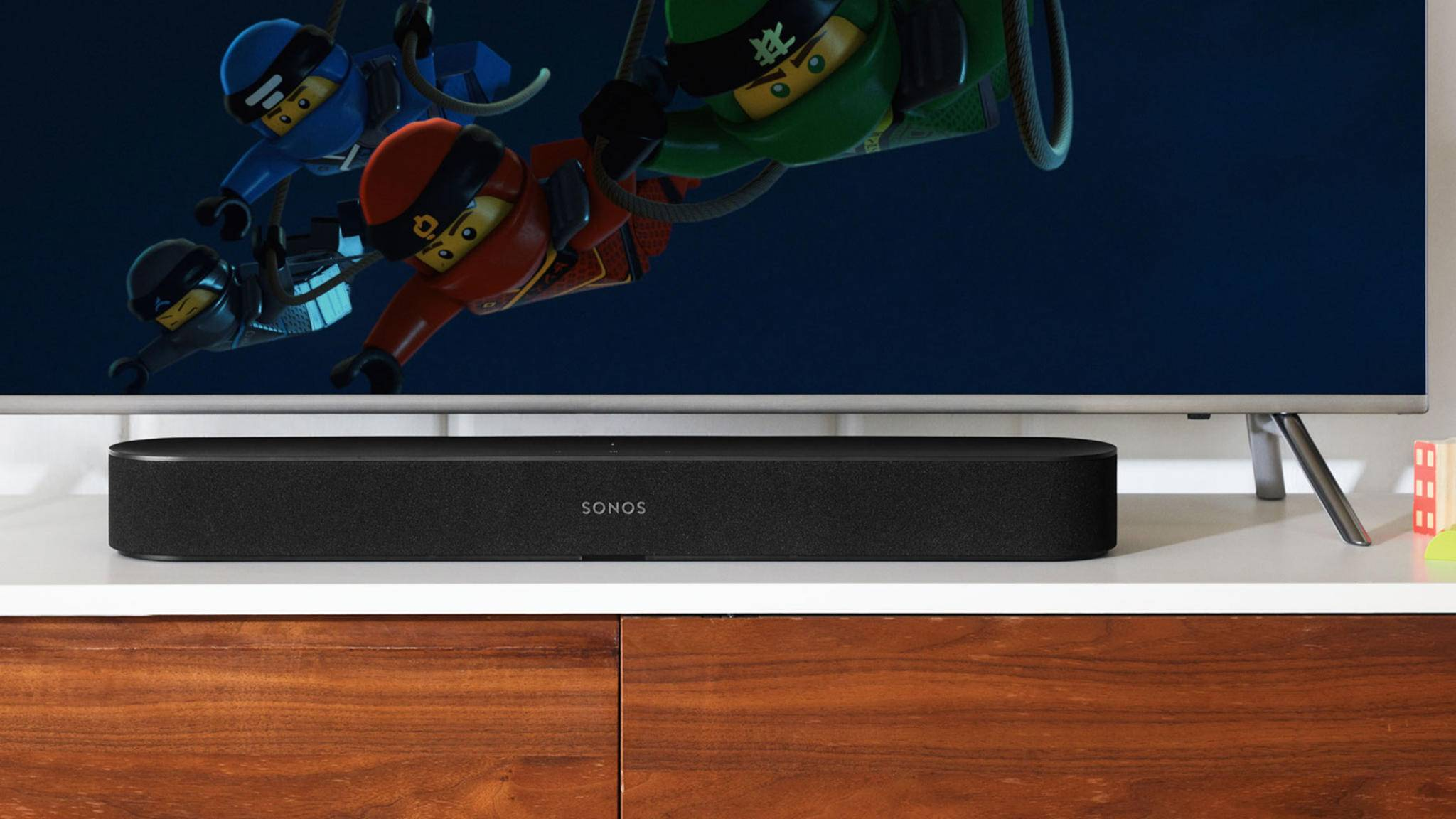 Der Sonos Beam hat Alexa bereits integriert.