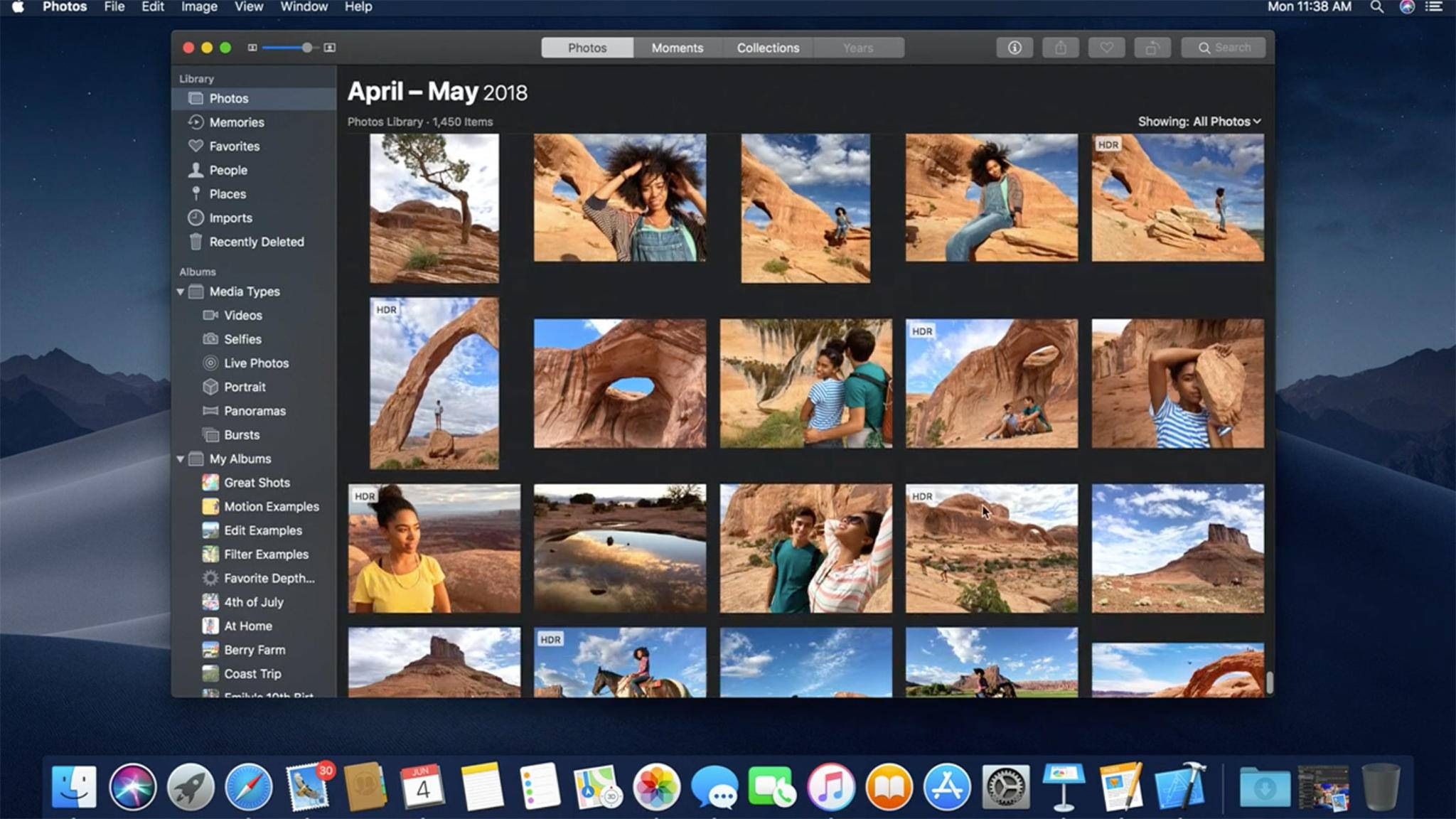 macOS 10.14 bringt den lang ersehnten Dark Mode.