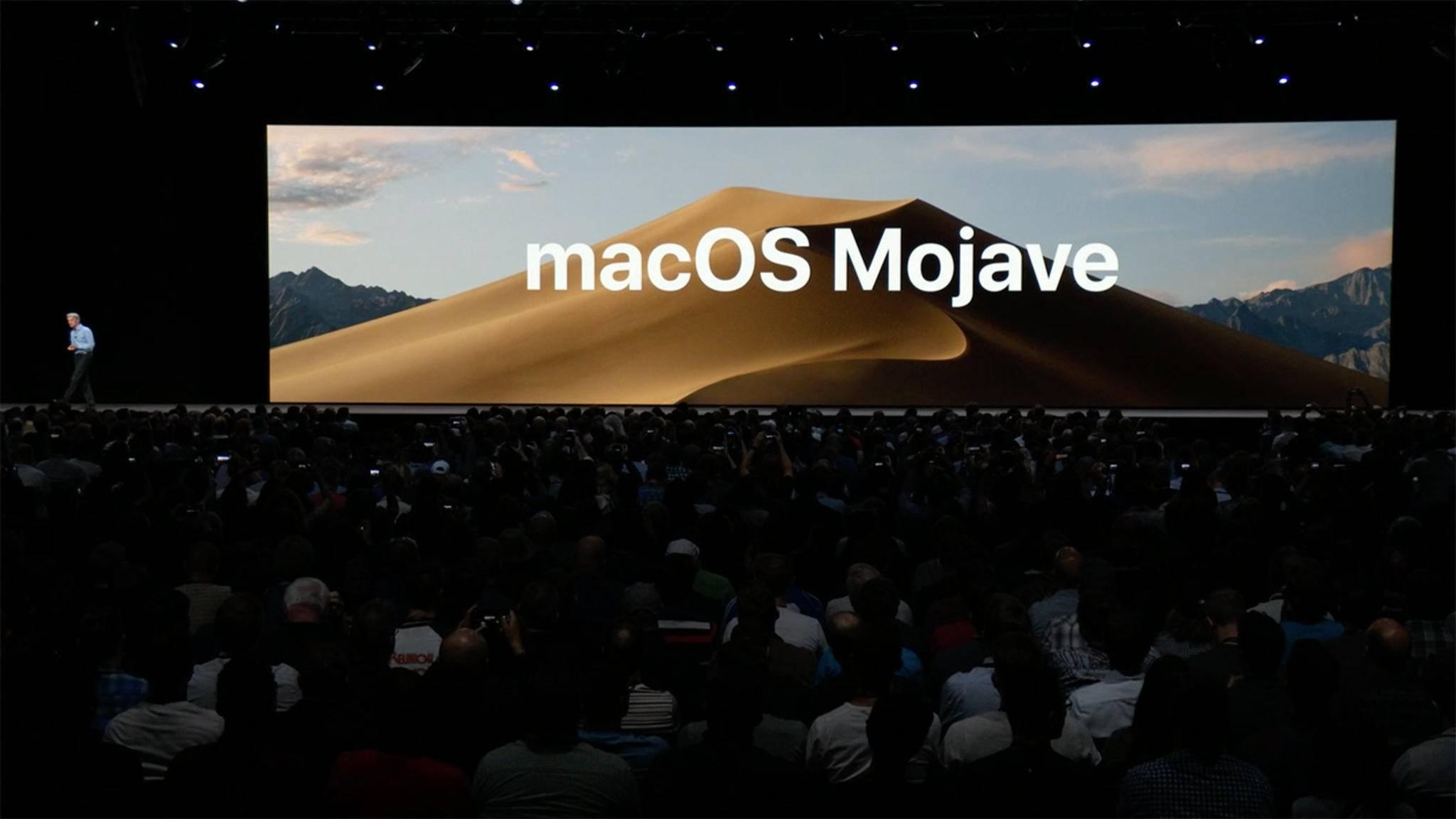 macOS Mojave bietet viele neue Apps und Features.