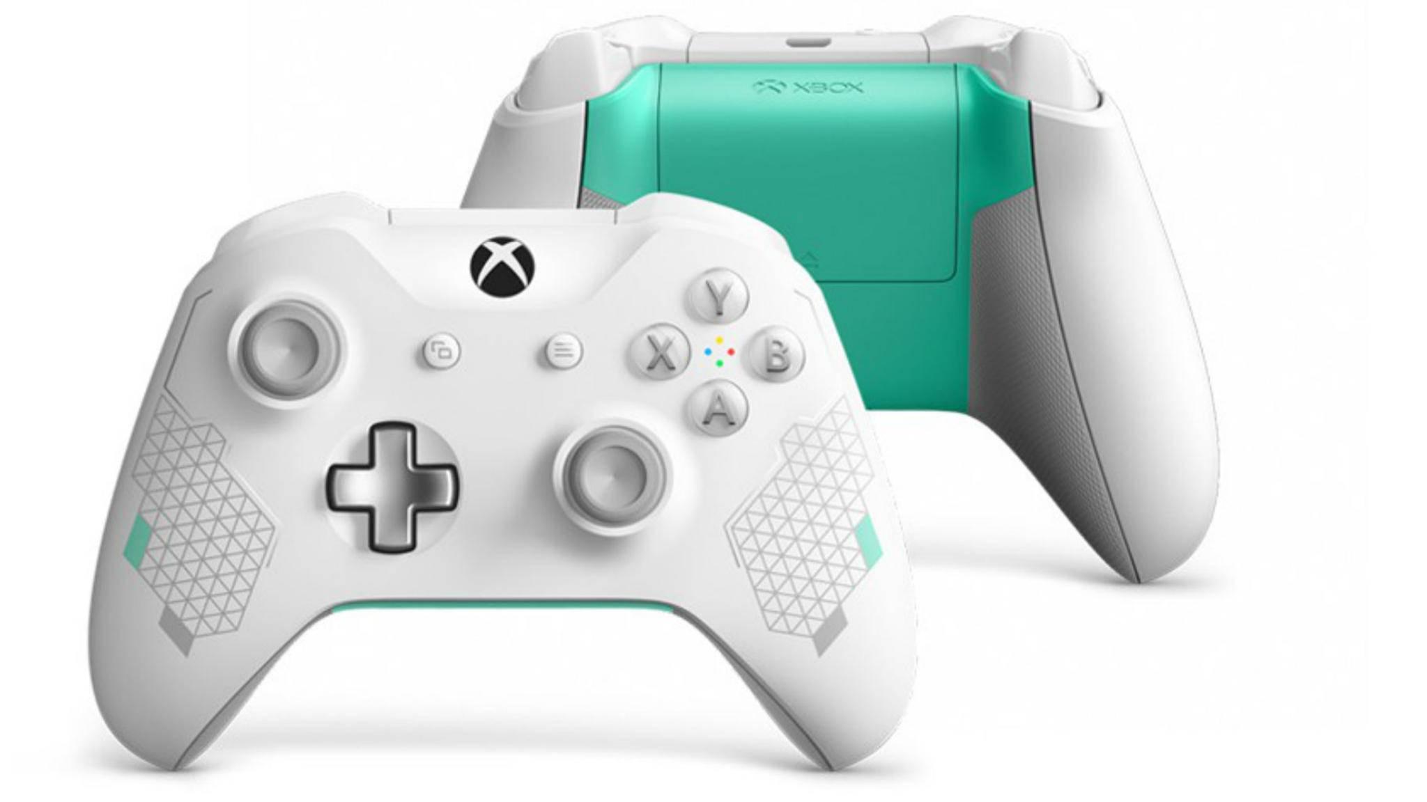 Ein Traum in Weiß: Der Xbox Wireless Controller in der Sport White Special Edition.