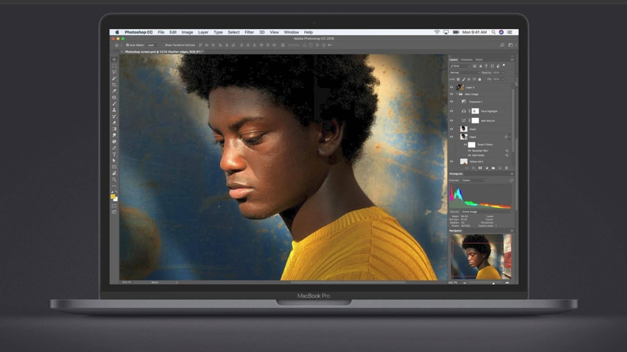 Die neuen MacBook-Pro-Modelle haben ein deutliches Leistungsplus erfahren.