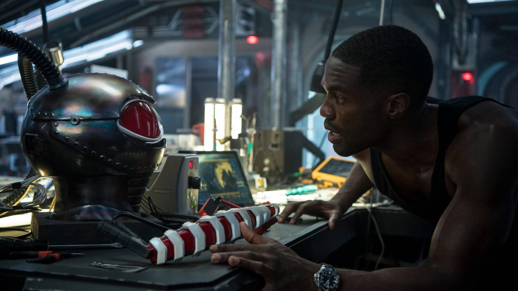 """Yahya Abdul-Mateen II ist scheinbar der perfekte Darsteller für die Rolle von Black Manta, dem Bösewicht in """"Aquaman""""."""