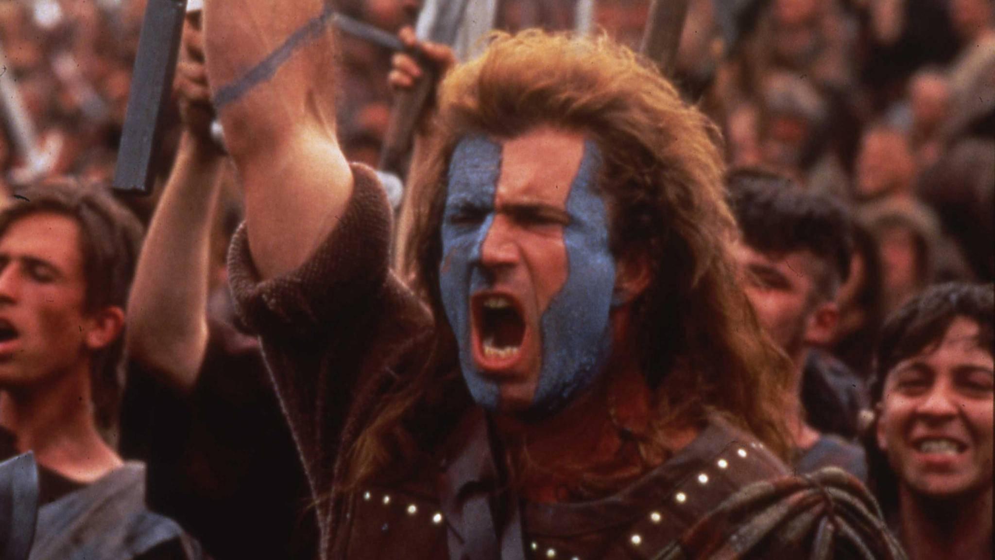 Freiiiiiheeeeeeeit! Als William Wallace bleibt Mel Gibson unvergessen.