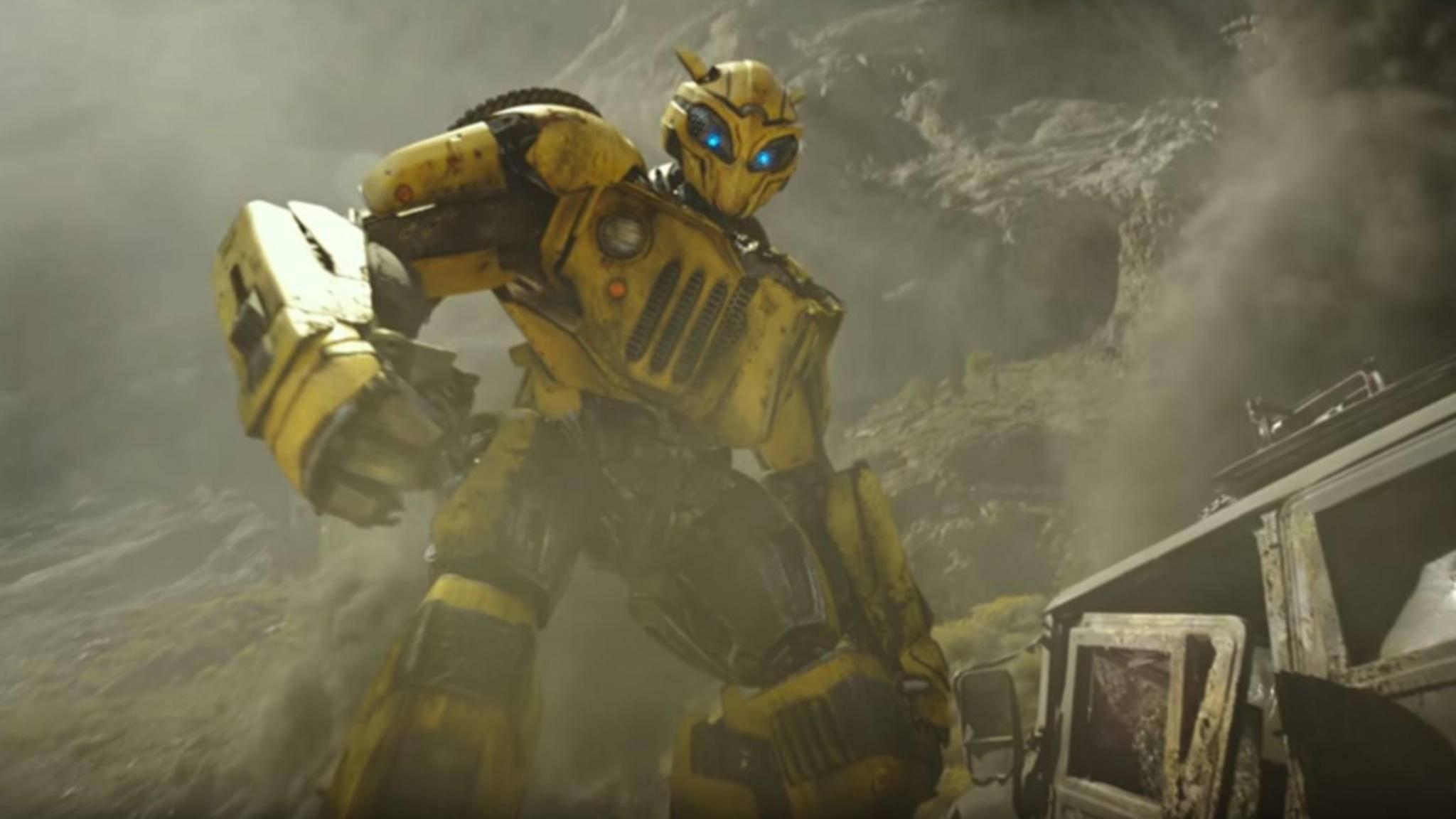 """Autobot Bumblebee bekommt in seinem Spin-off ein anderes Design als in den """"Transformers""""-Filmen."""