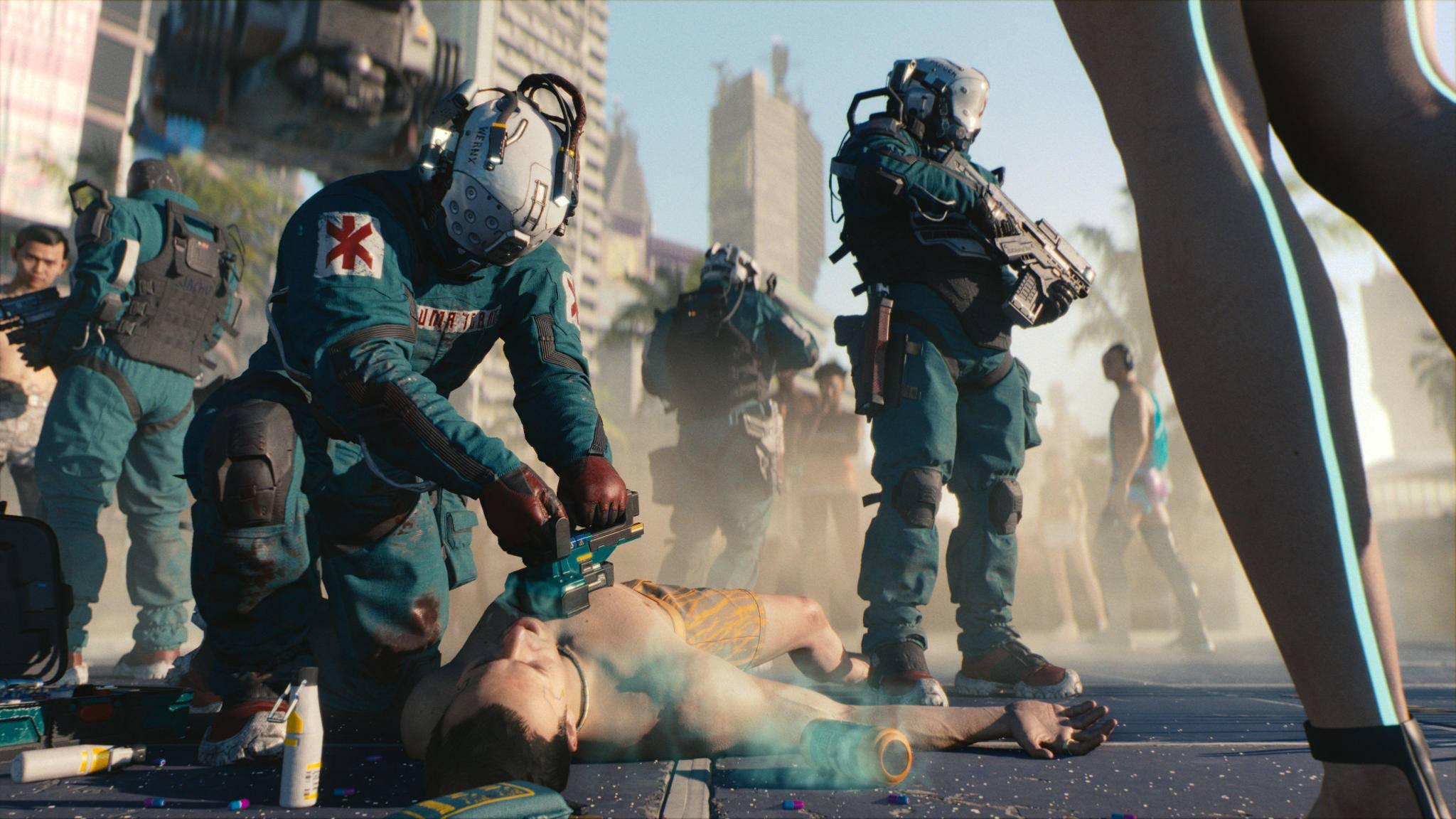 """In """"Cyberpunk 2077"""" soll Klartext gesprochen werden."""