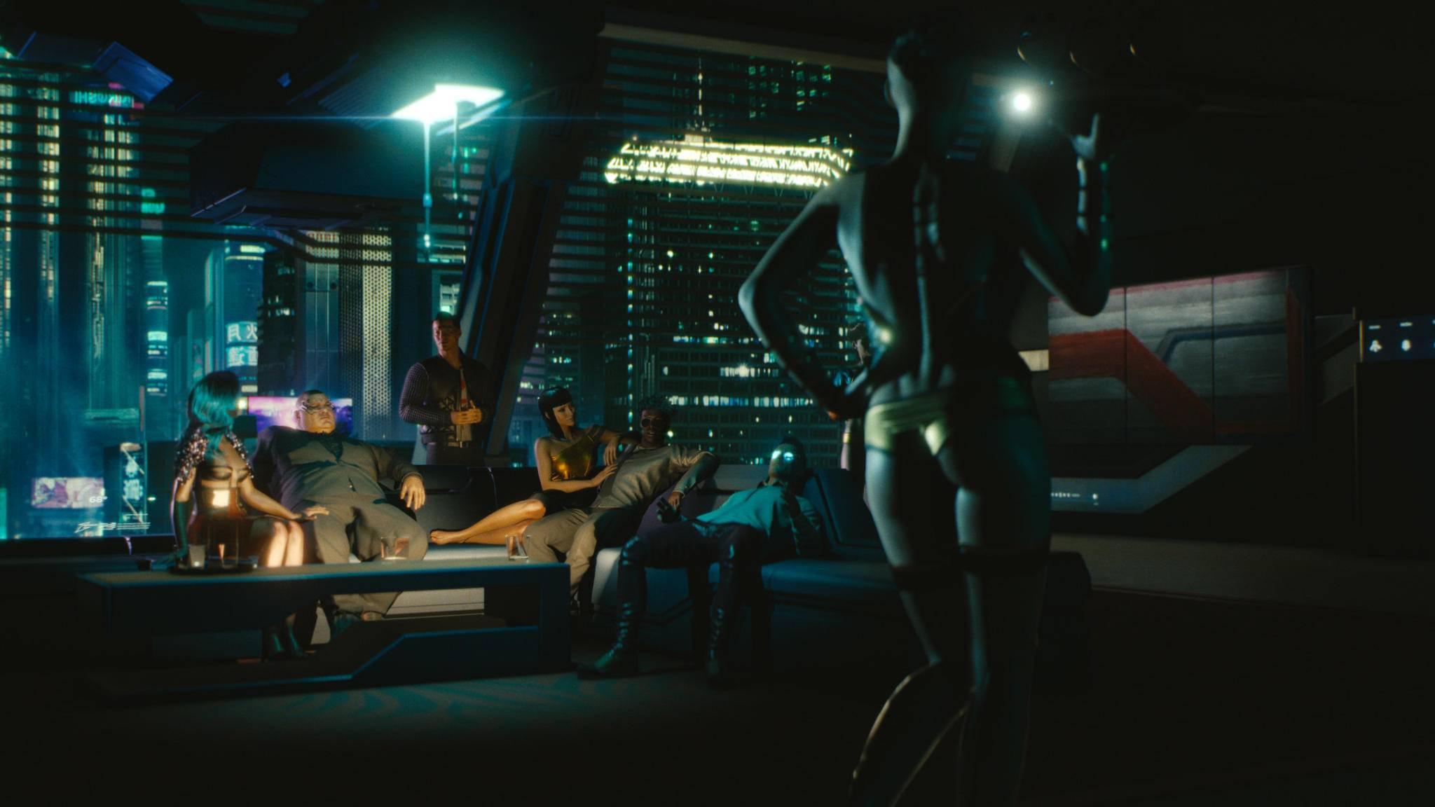 Wer im Luxus schwelgen will, braucht Geld – das gilt auch in Night City.
