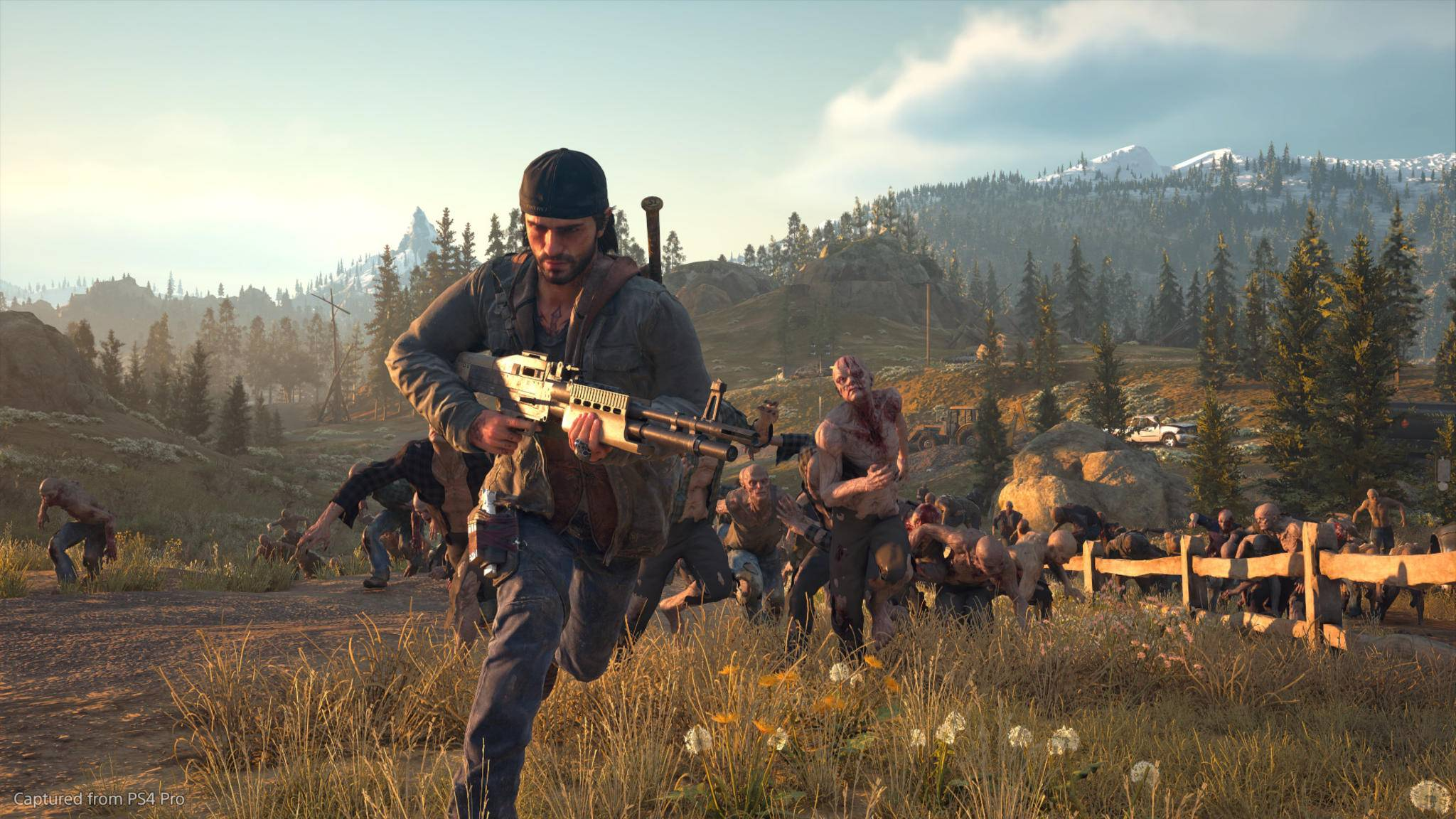 Days Gone Screenshot E3 2018 Flucht