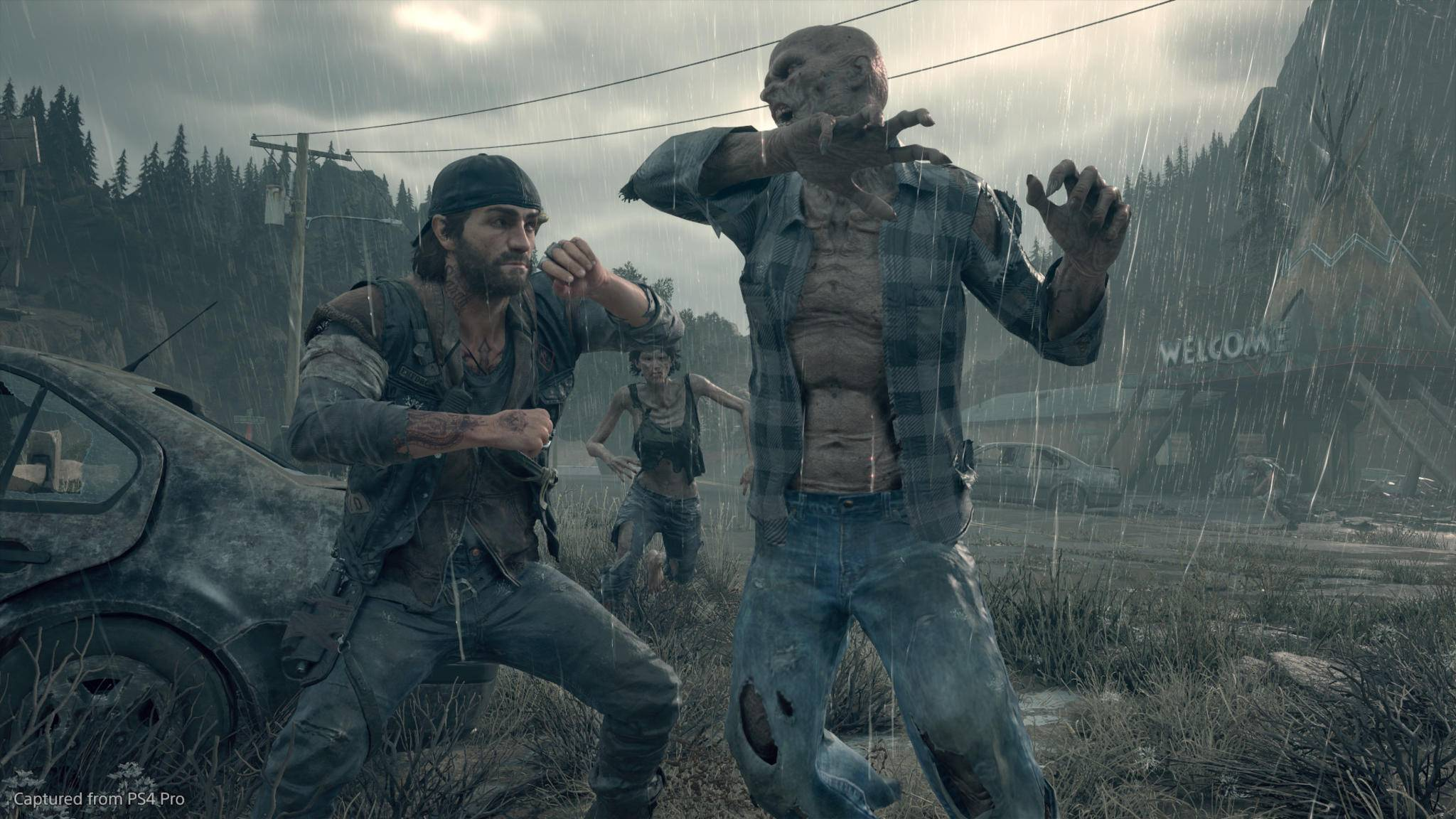 """Auf der PS4 kannst Du Dir in """"Days Gone"""" knallharte Kämpfe mit Zombies liefern."""
